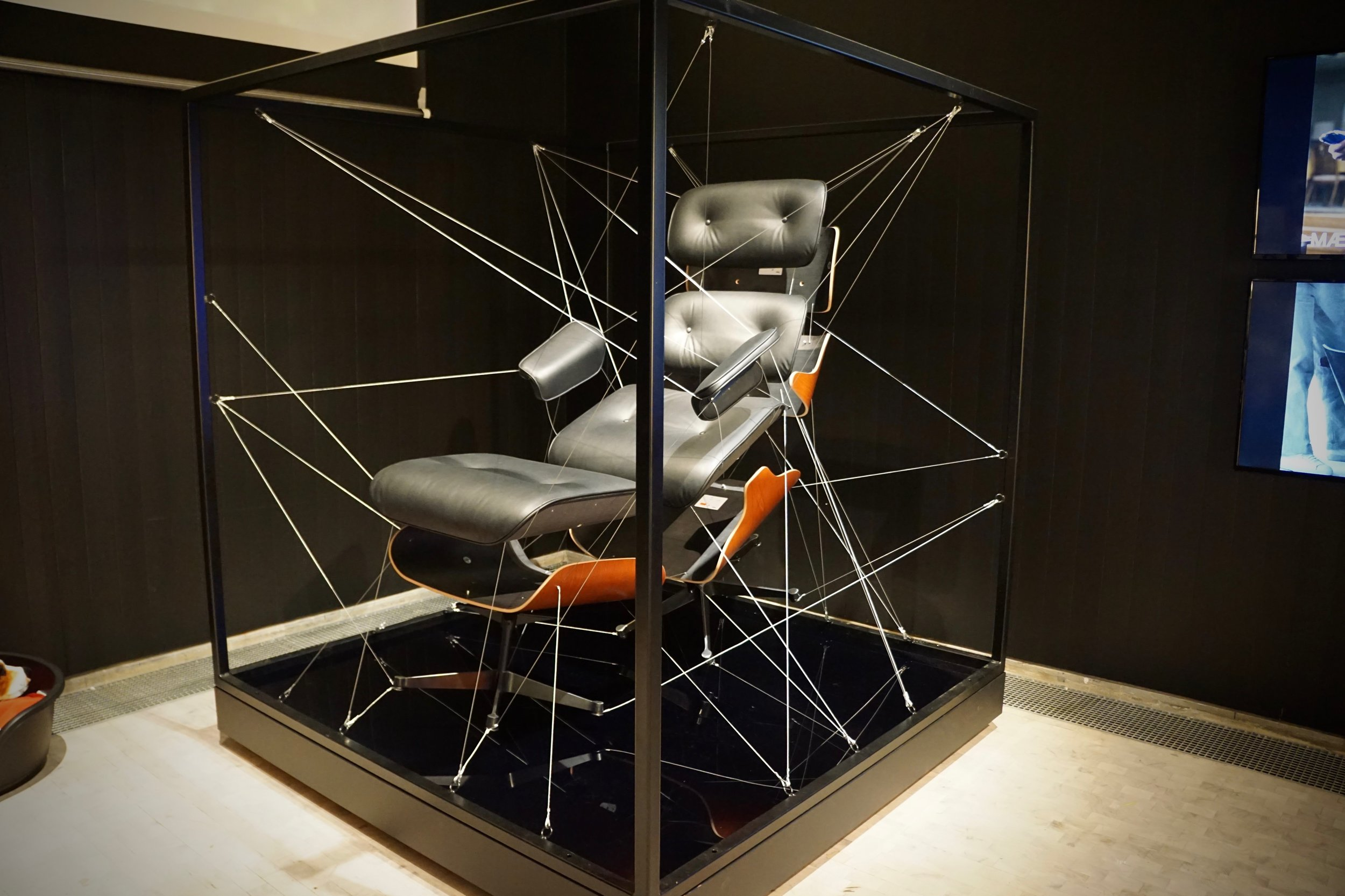 Exploded Eames Lounge Chair - created by Vincent Faust (USA), 2006