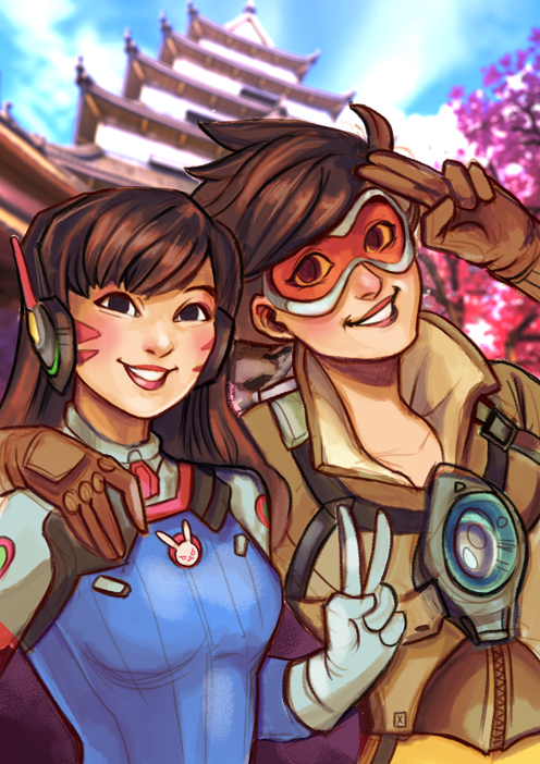 Dva and Tracer