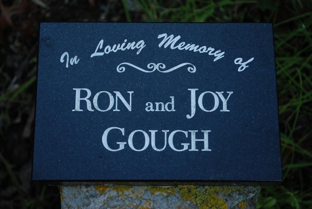 Ron Gough; Joy Gough