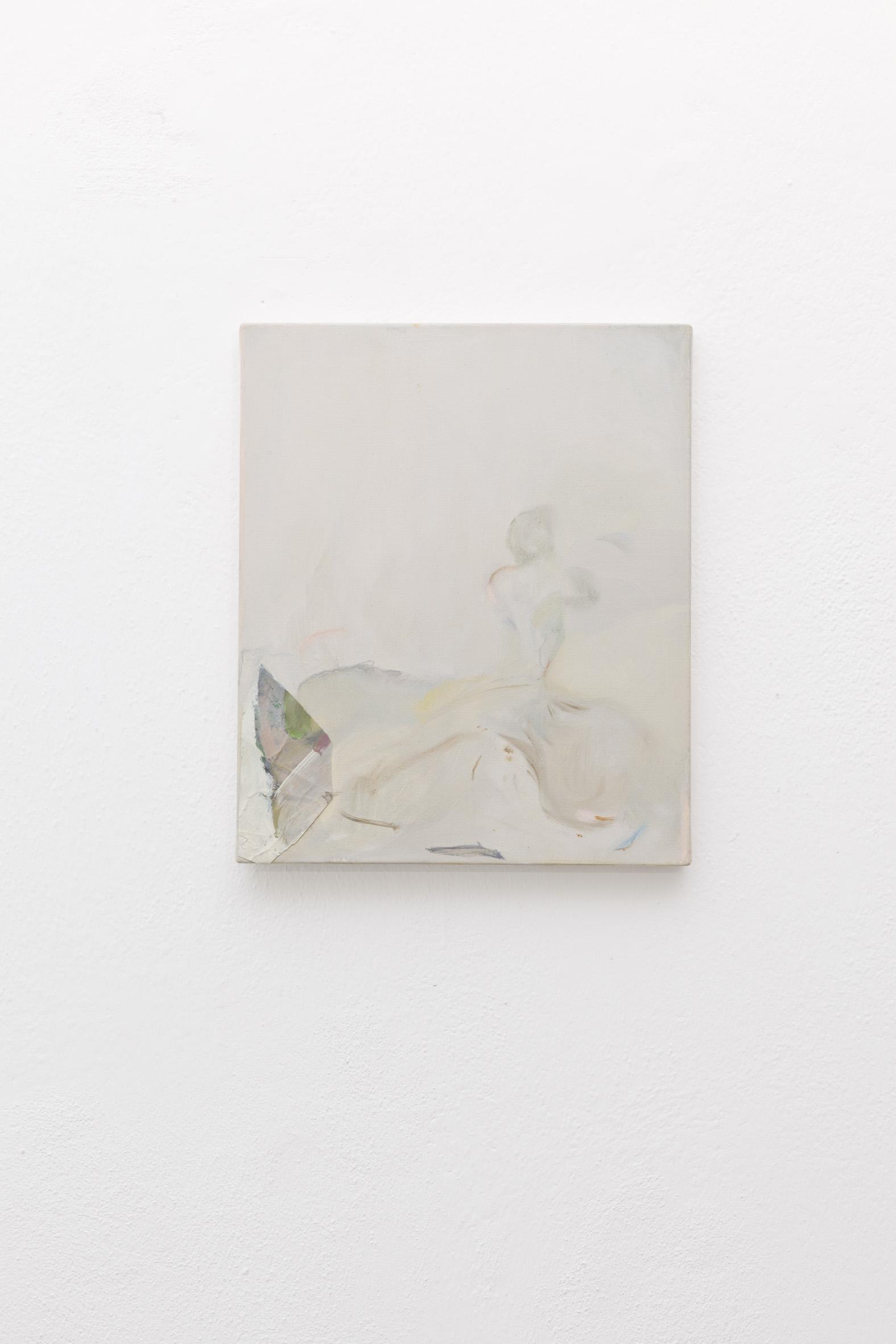 B.Meoni,  Failing  2018 - Olio su tela - cm25x30