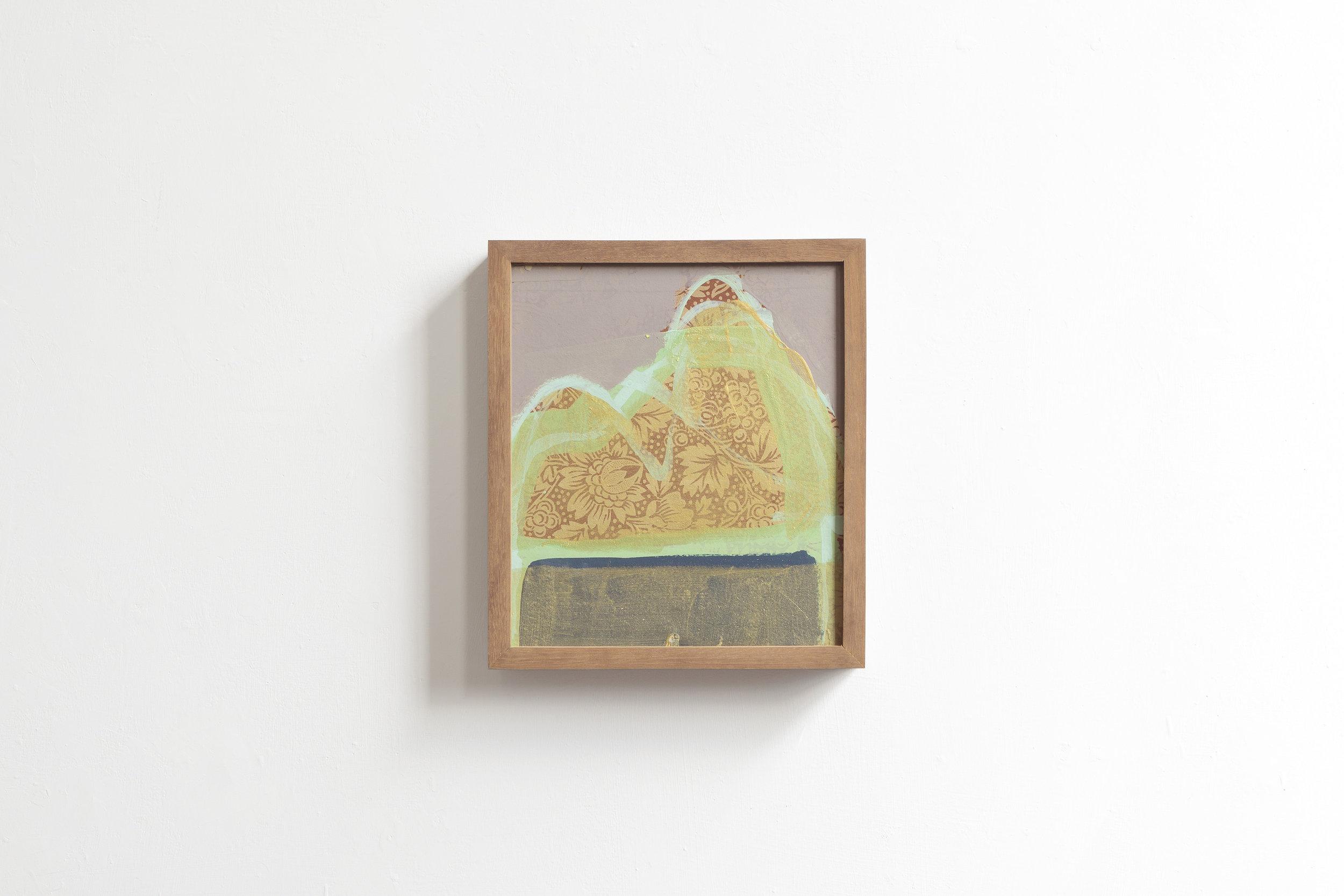 Figure  2017 - painting on wood - cm28x24x5