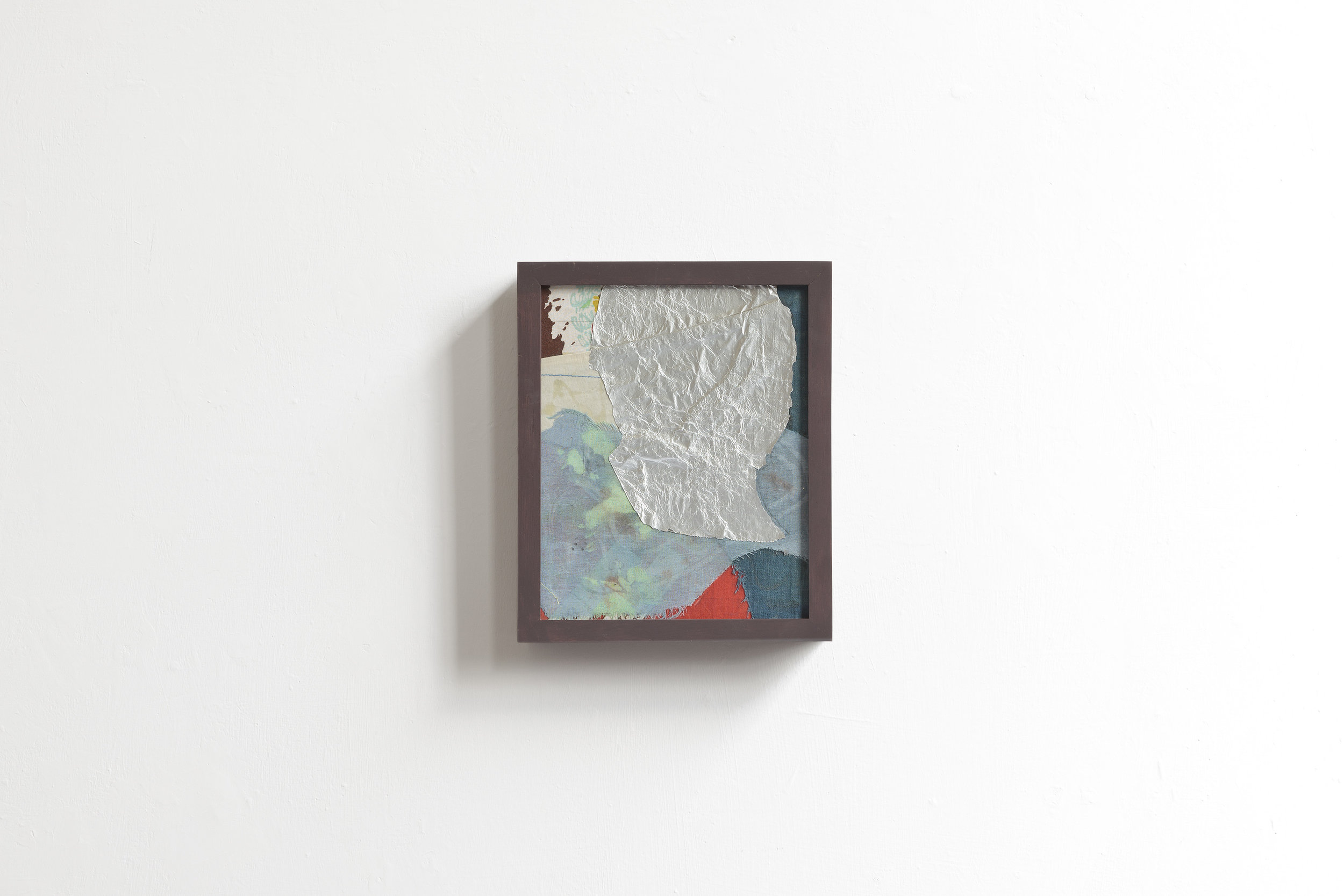 P#1  2017 - mixed media on wood - cm 25x20x5