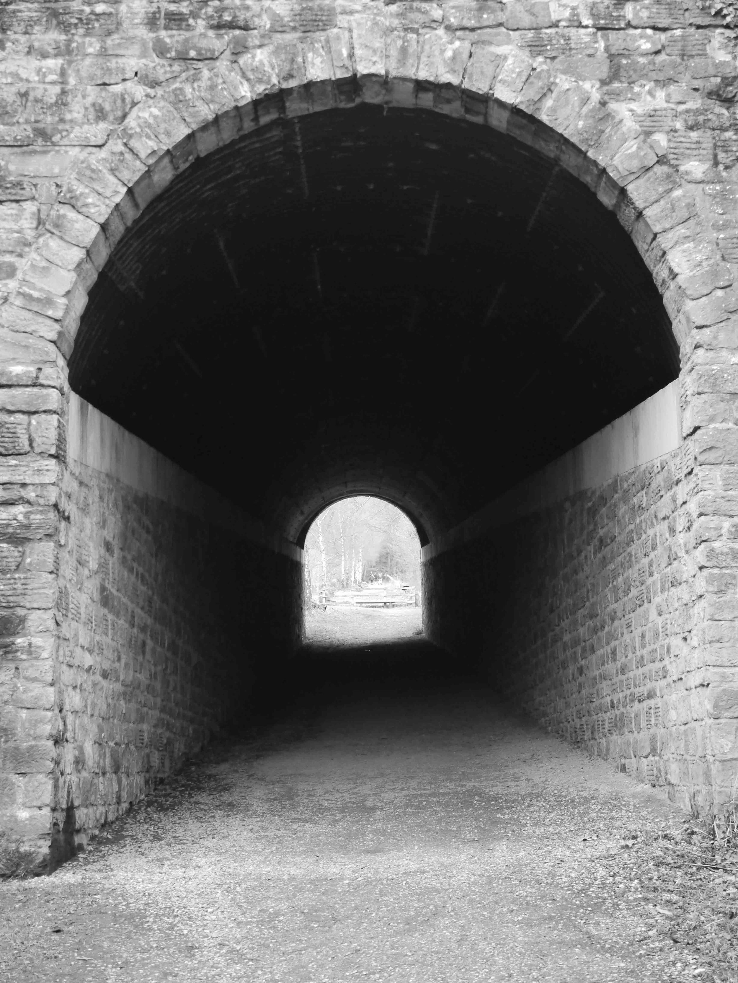 High Peak Trail tunnel