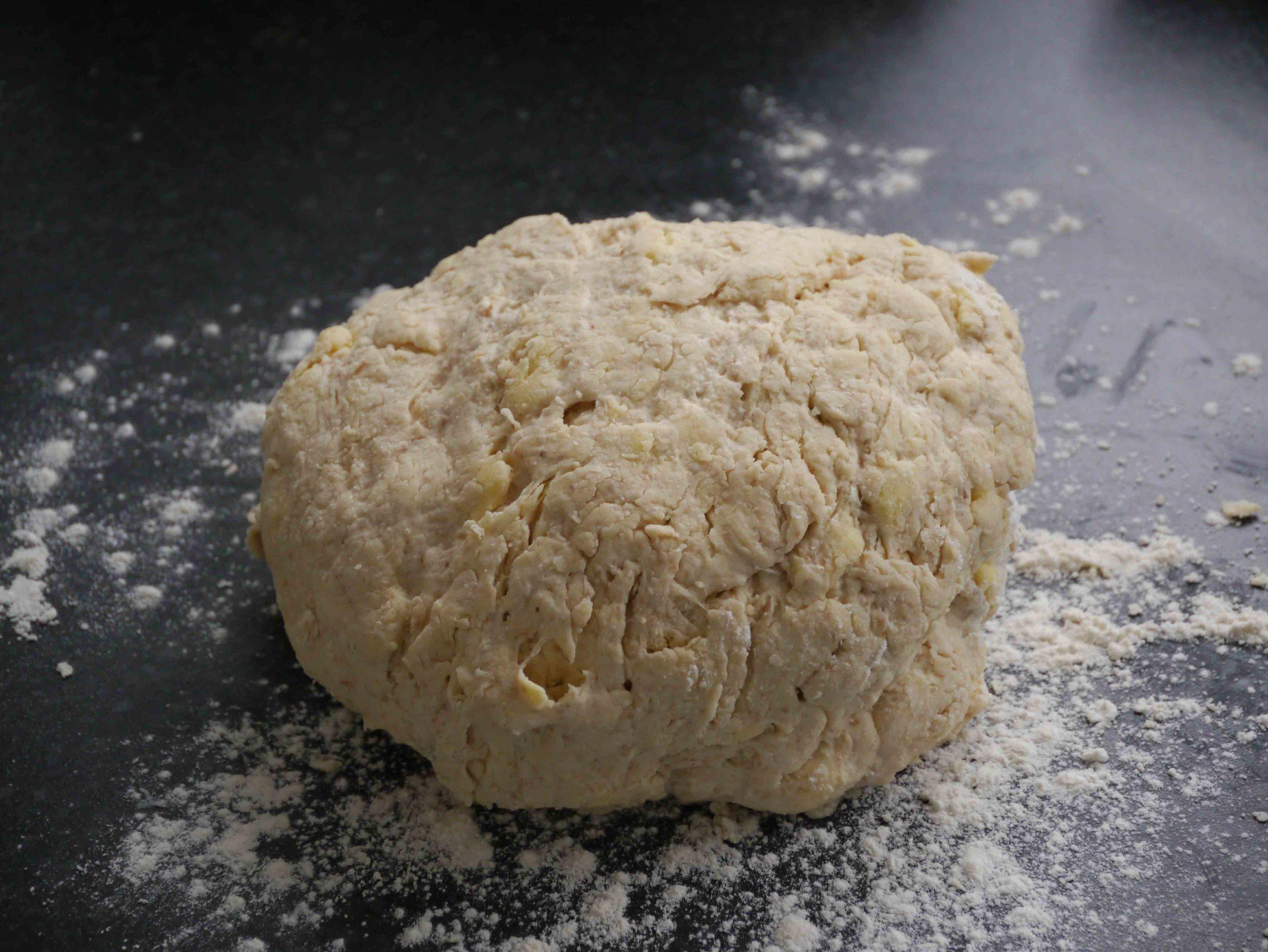 sourdough cheese scones dough