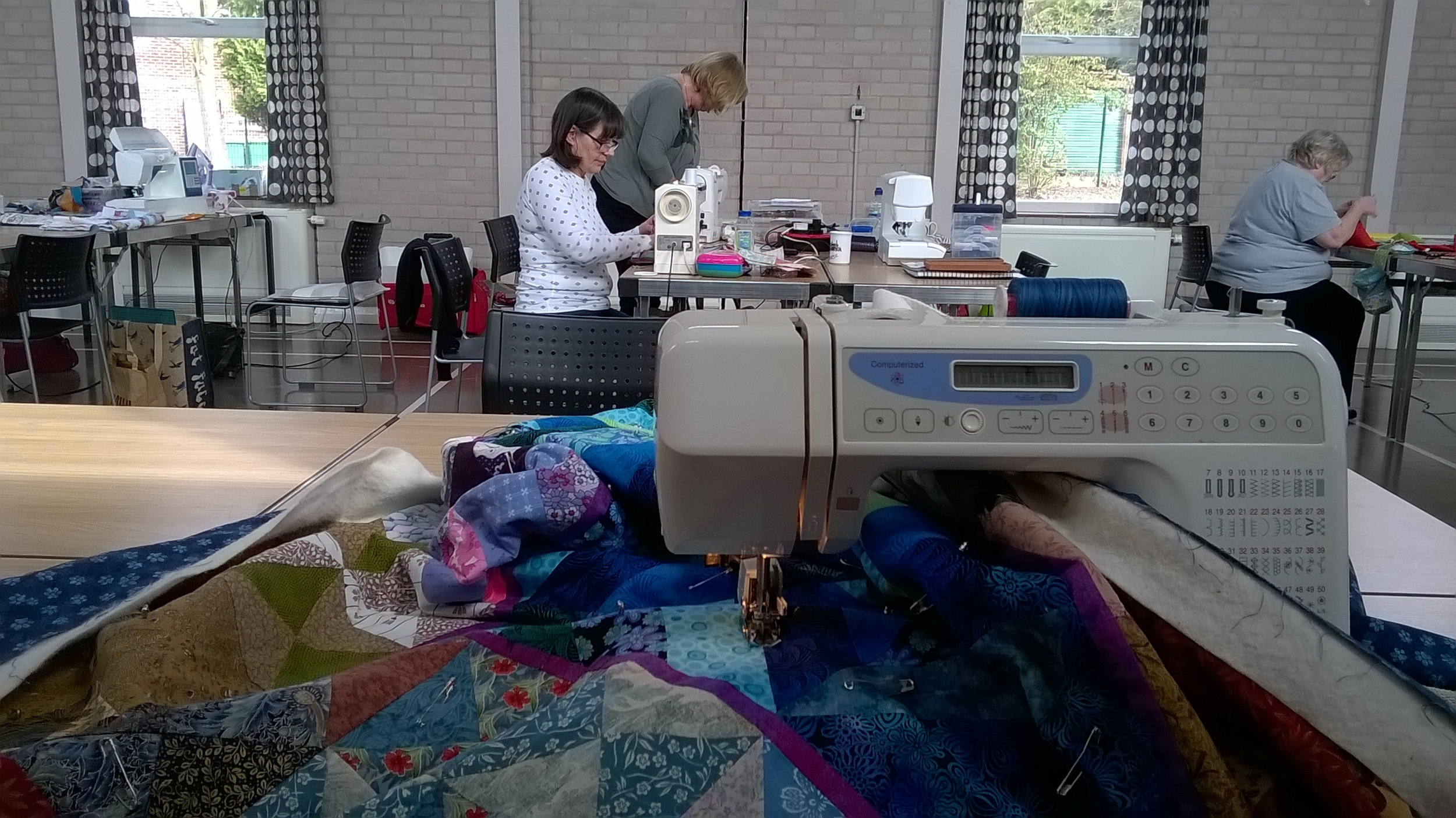 Nottingham Patchwork Group sewing day