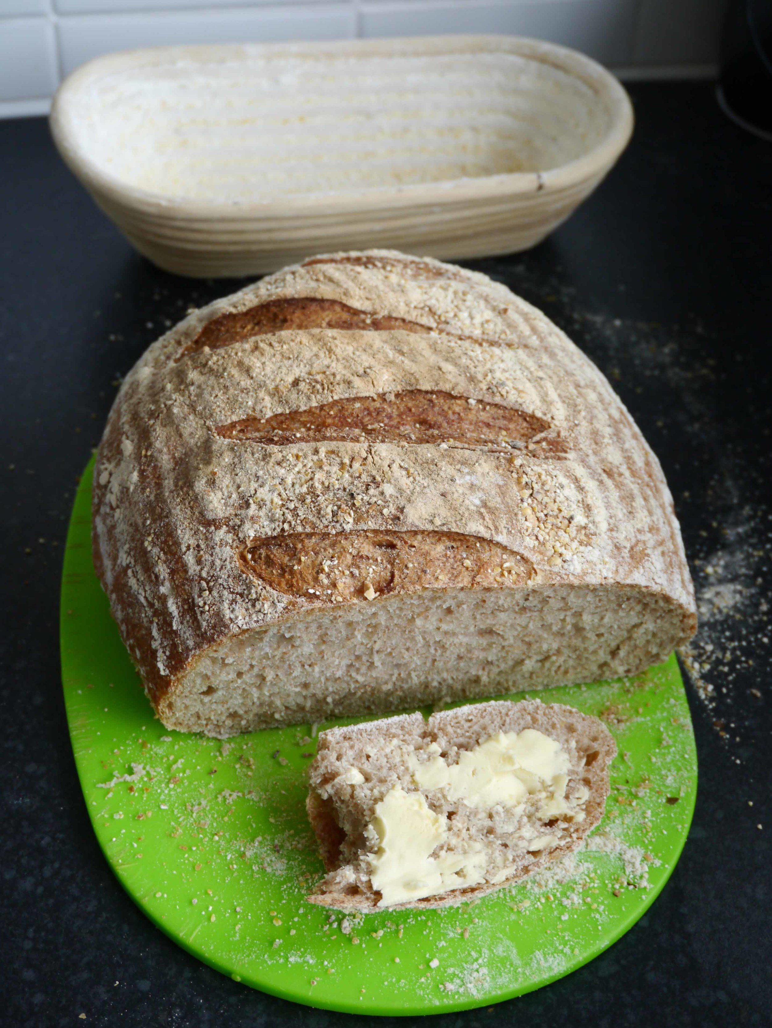 If only a photo could convey the heavenly smell and taste of a sourdough loaf