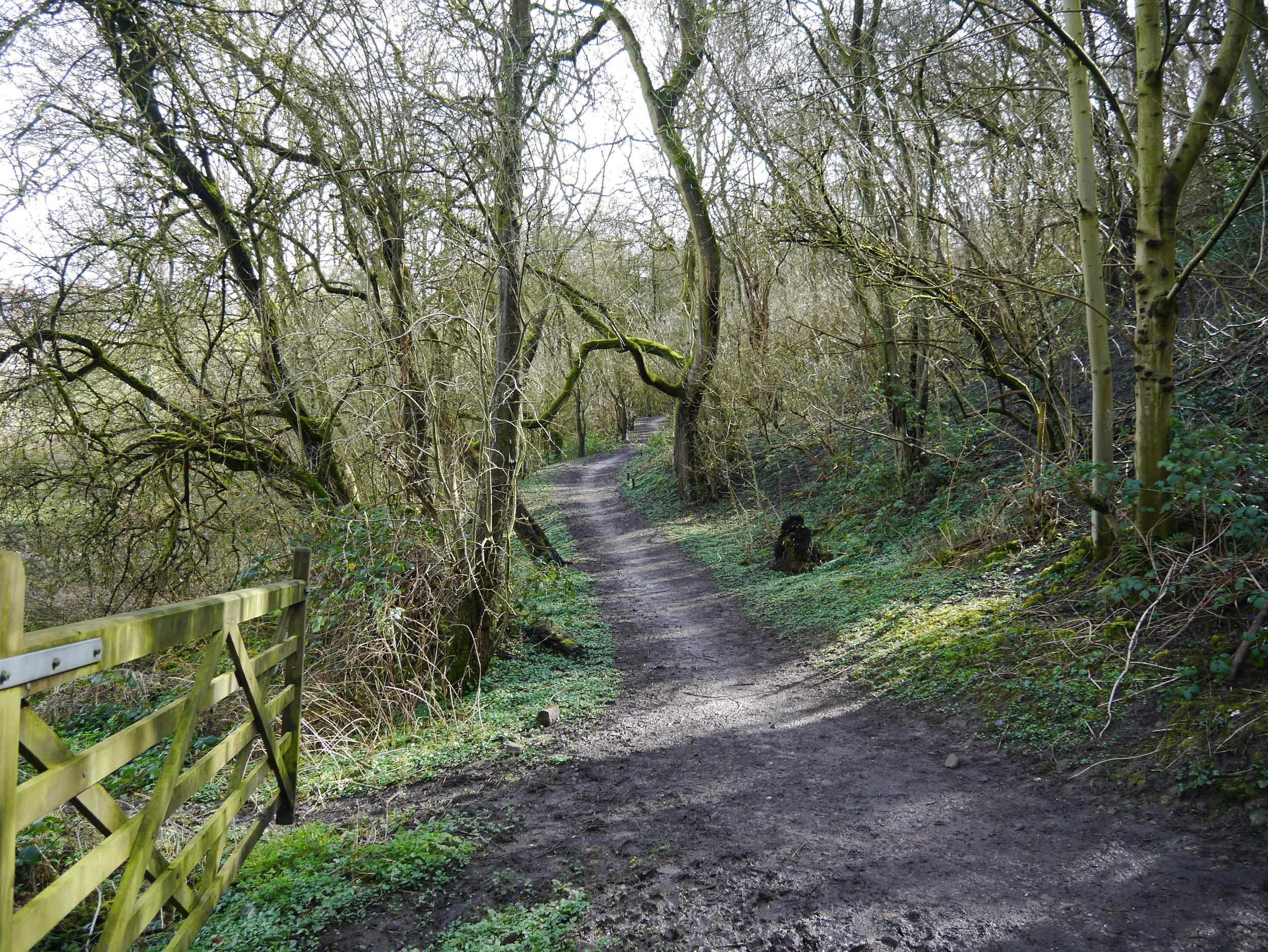 Former railway, now a footpath