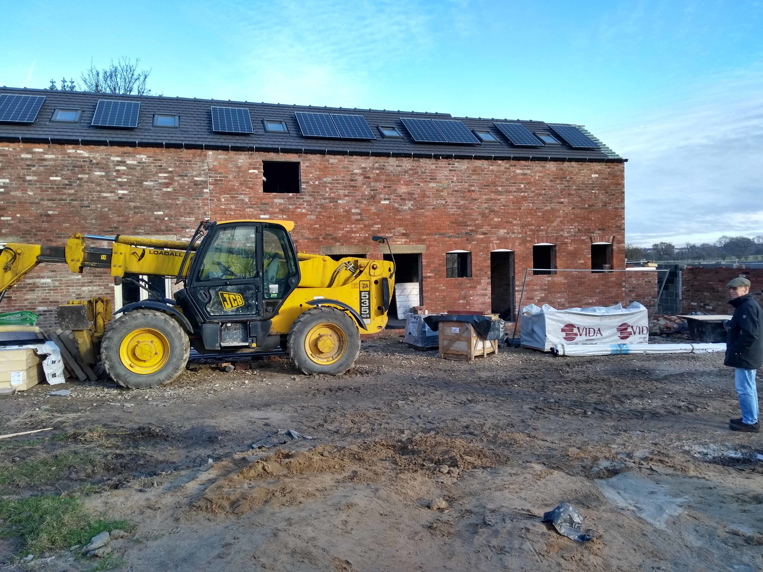 Barn 2 velux and solar pv