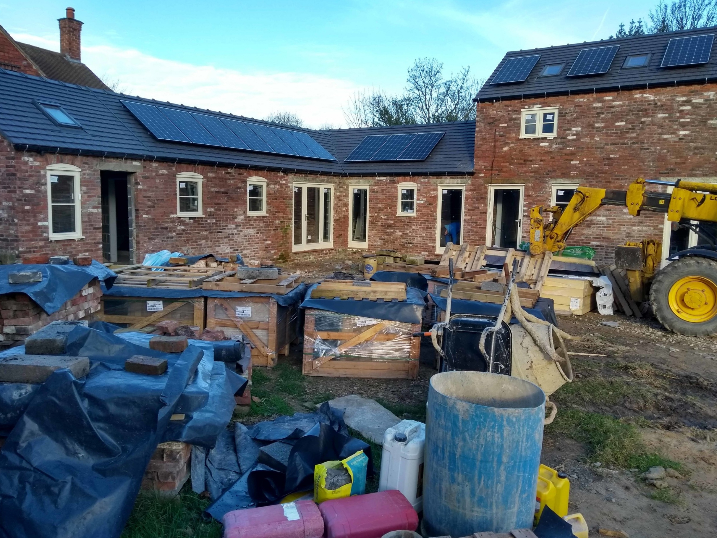 Barn 1 windows and solar pv