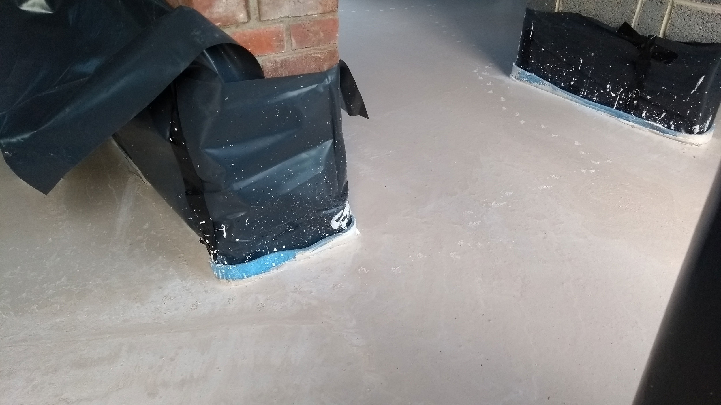 Screed floor and the pitter patter of tiny feet