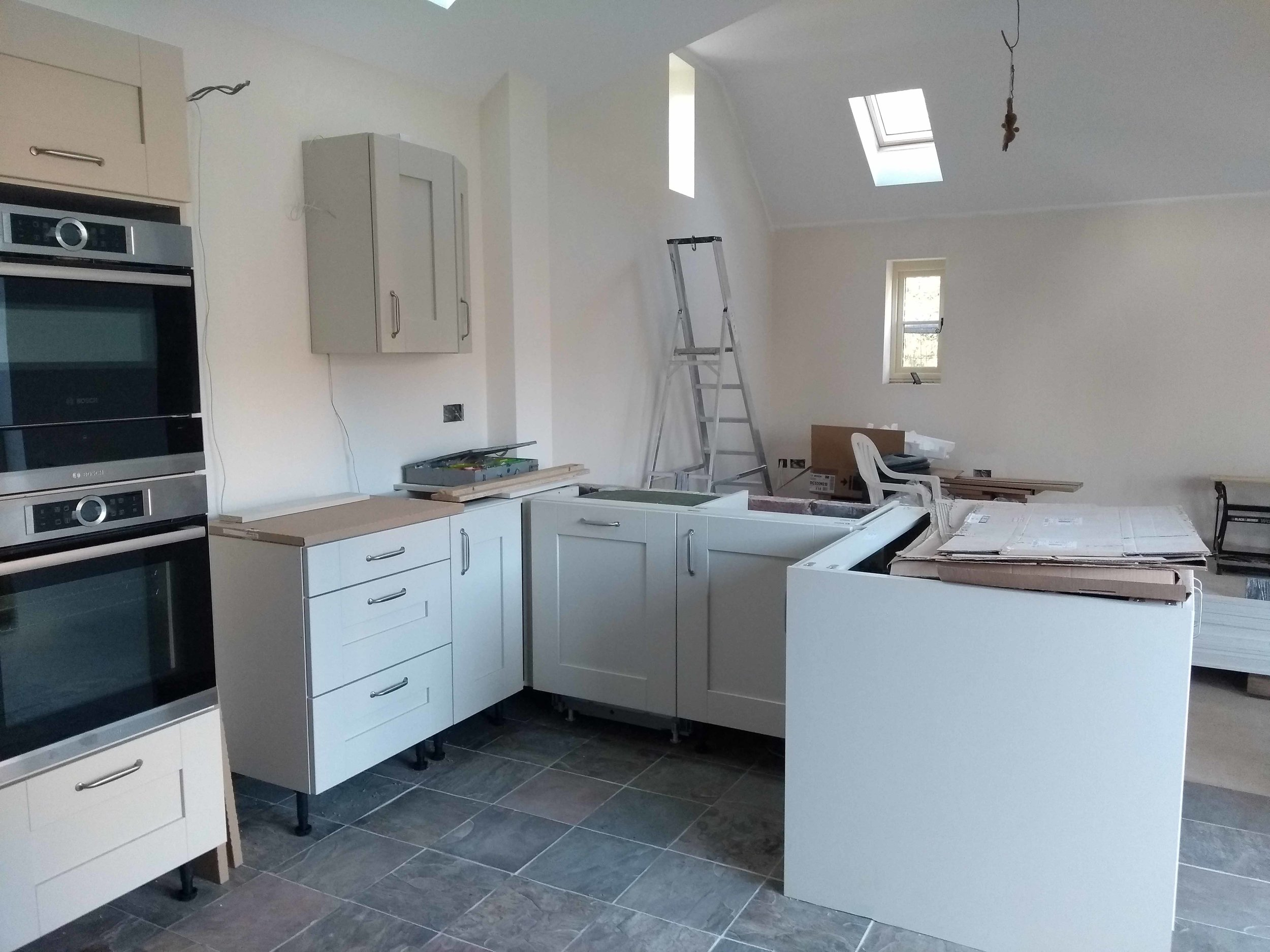 Kitchen from the utility room