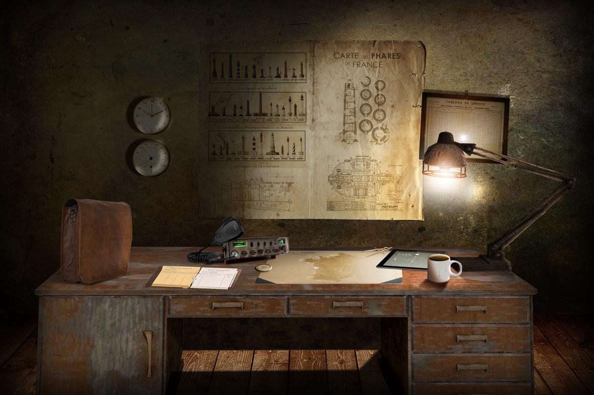 Le bureau du gardien... et ses différentes versions.
