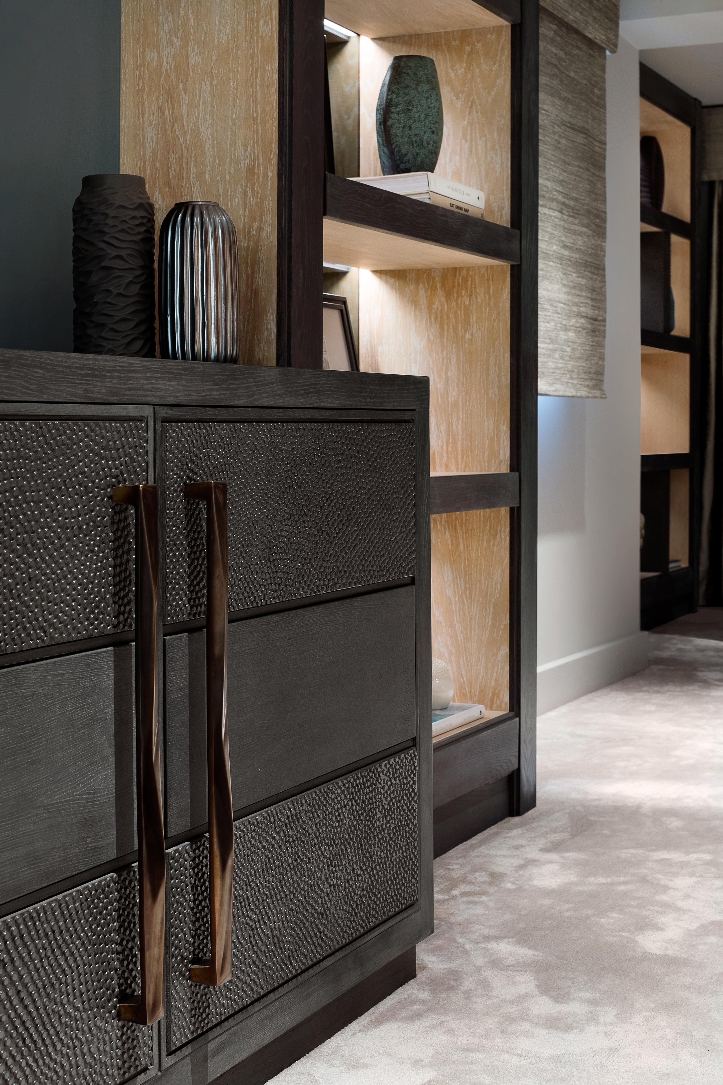 Rachel Usher Interior Design Master Bedroom Bespoke Joinery