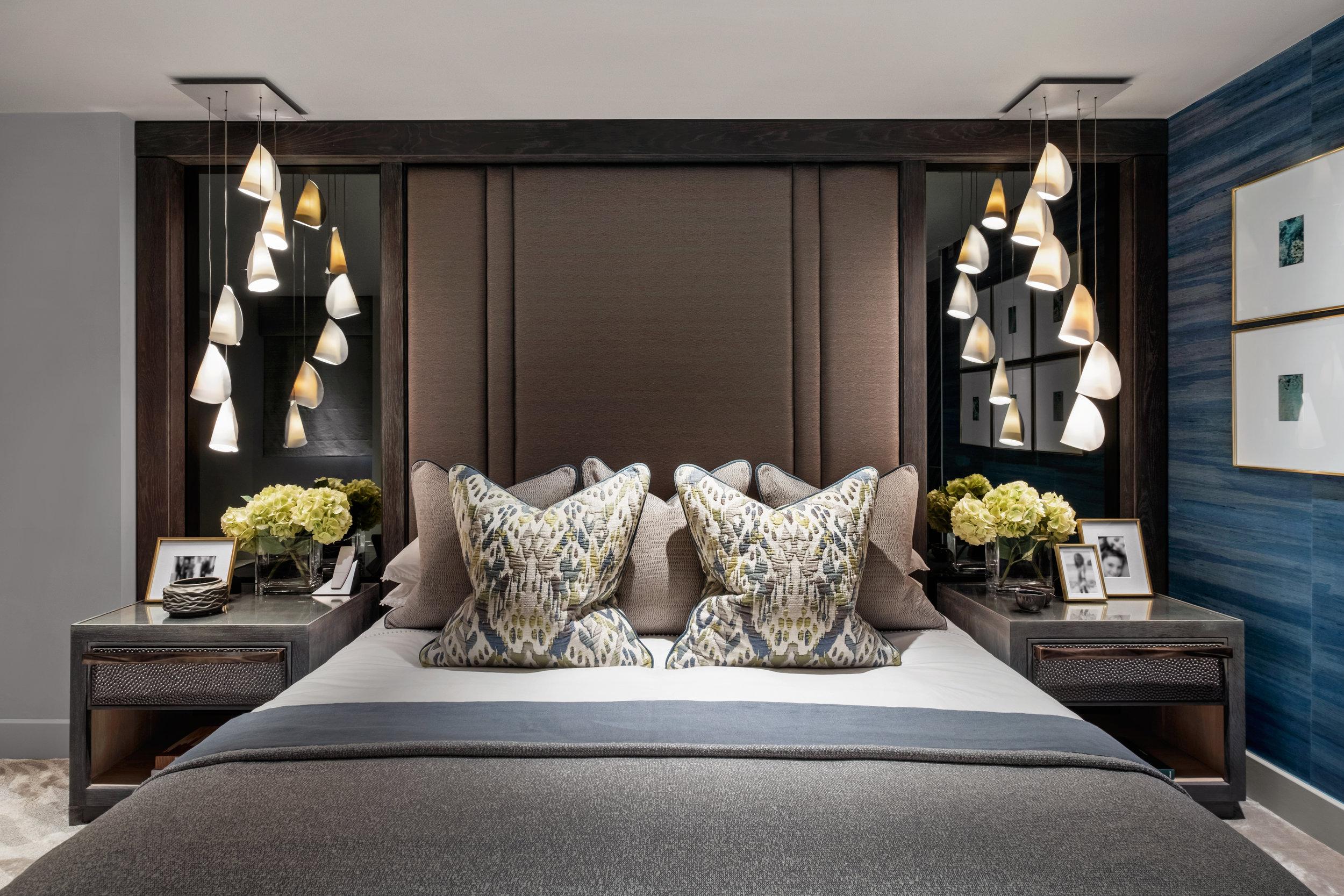 Rachel Usher Interior Design Bespoke Master Bedroom