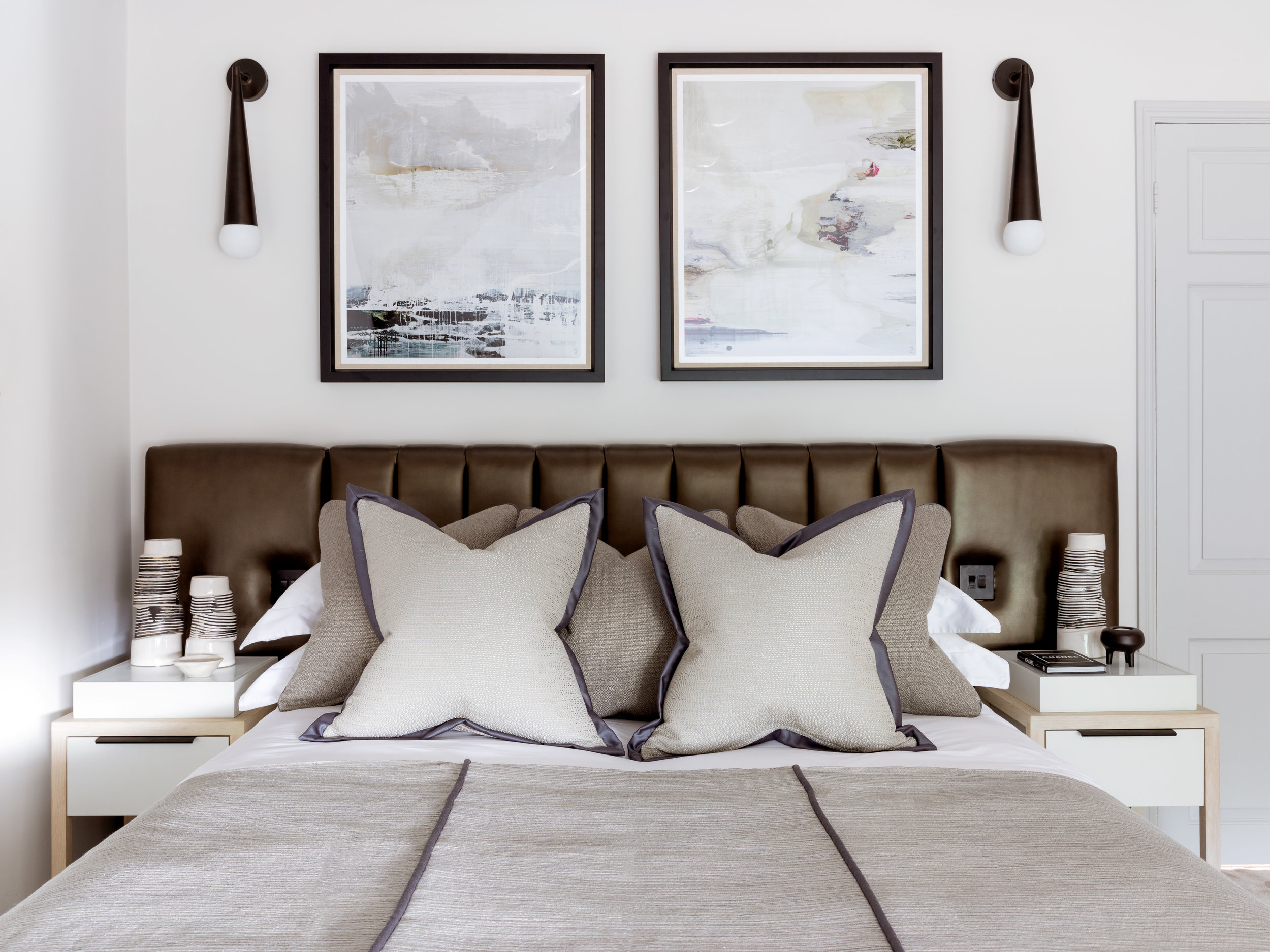 Rachel Usher Interior Design Bespoke Guest Bedroom