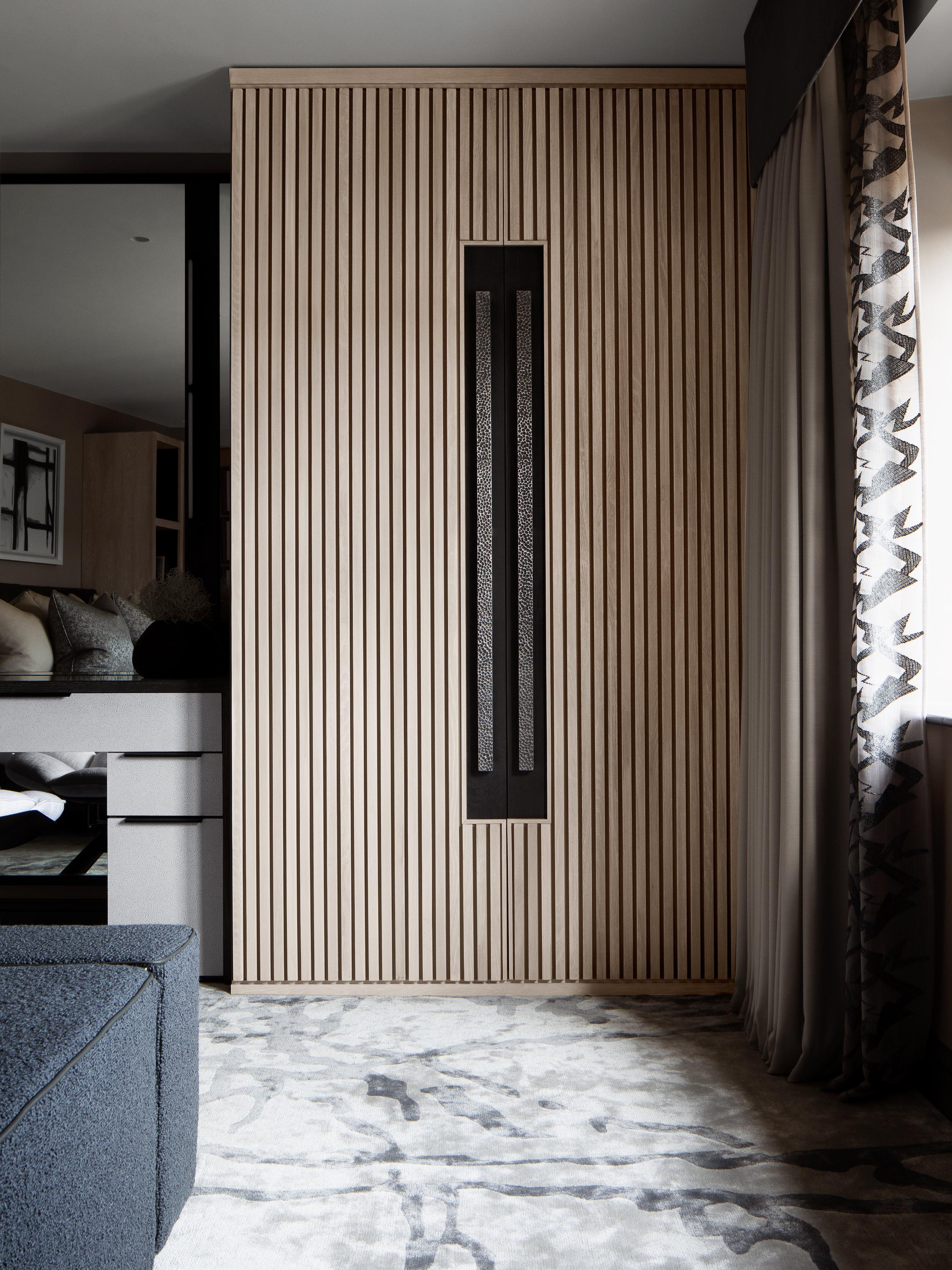 Rachel Usher Interior Design Bespoke Master Bedroom Design