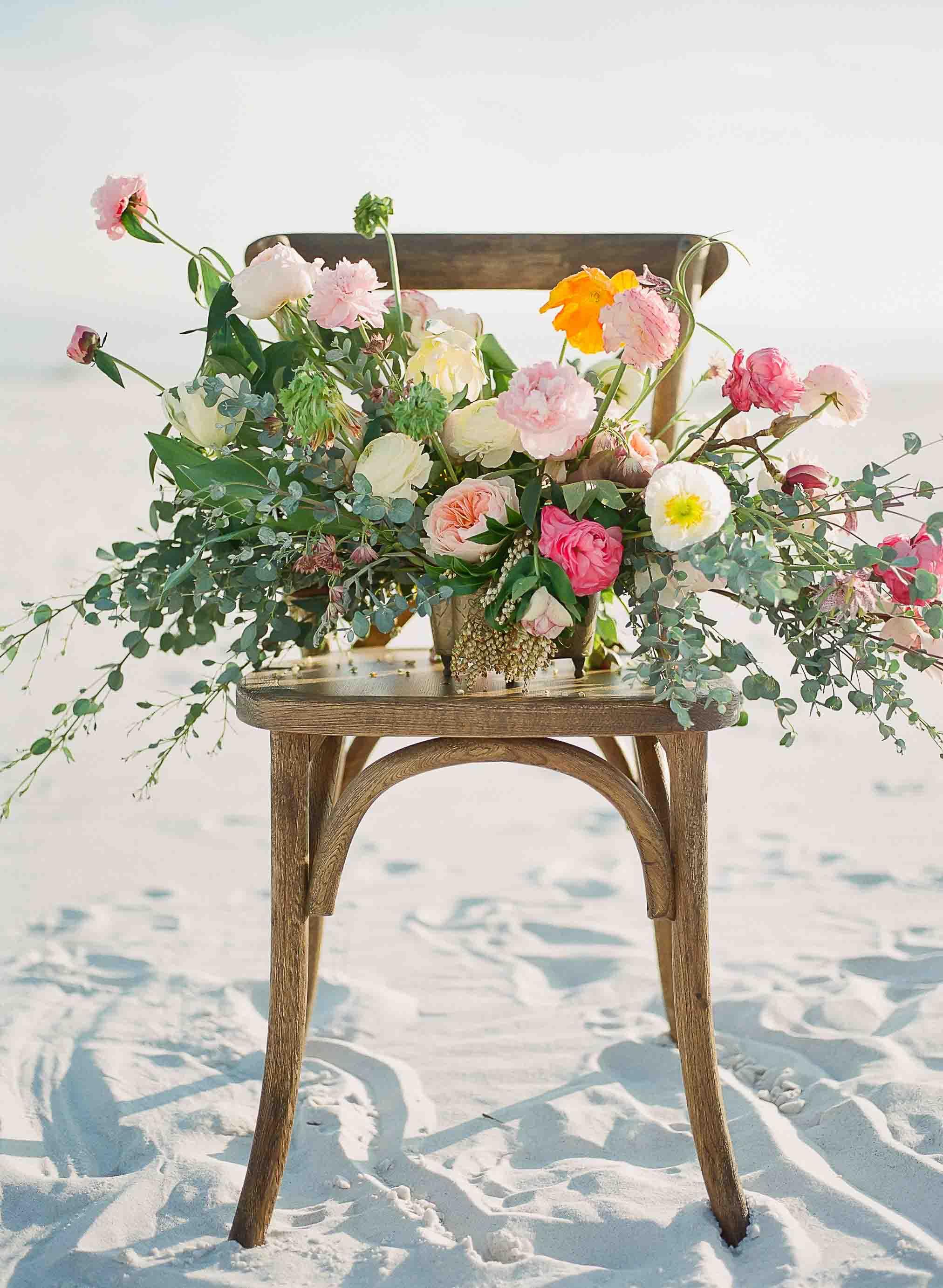 myrtie blue seaside bouquet   Kaylie B. Poplin Photography   Santa Rosa Beach, Florida Wedding Photographer