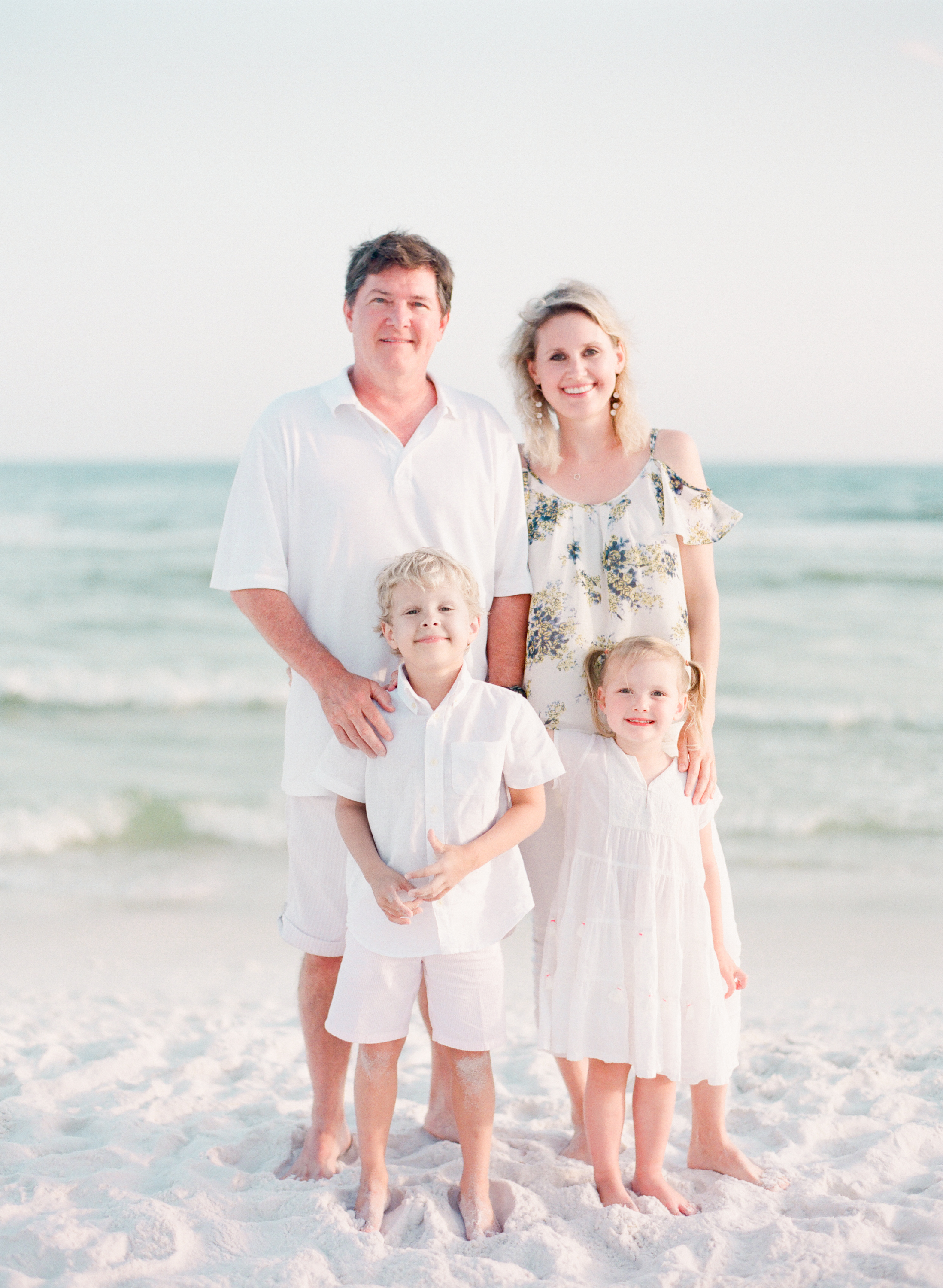 Where to take family beach pictures in 30a? | Kaylie B. Poplin Photography | Watercolor, Florida Fine Art Family & Wedding Photographer