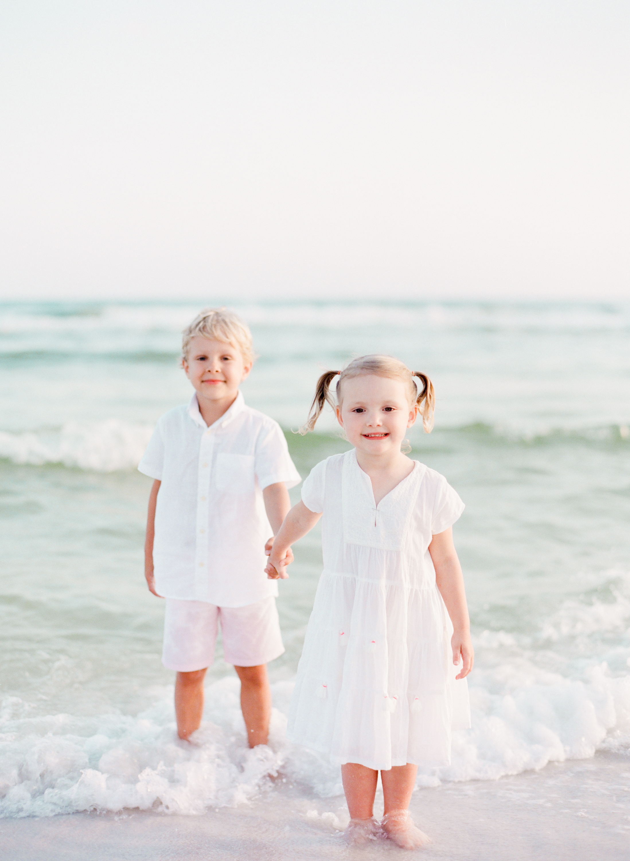 Neutral inspired beach outfits | Kaylie B. Poplin Photography | Watercolor, Florida Fine Art Family & Wedding Photographer