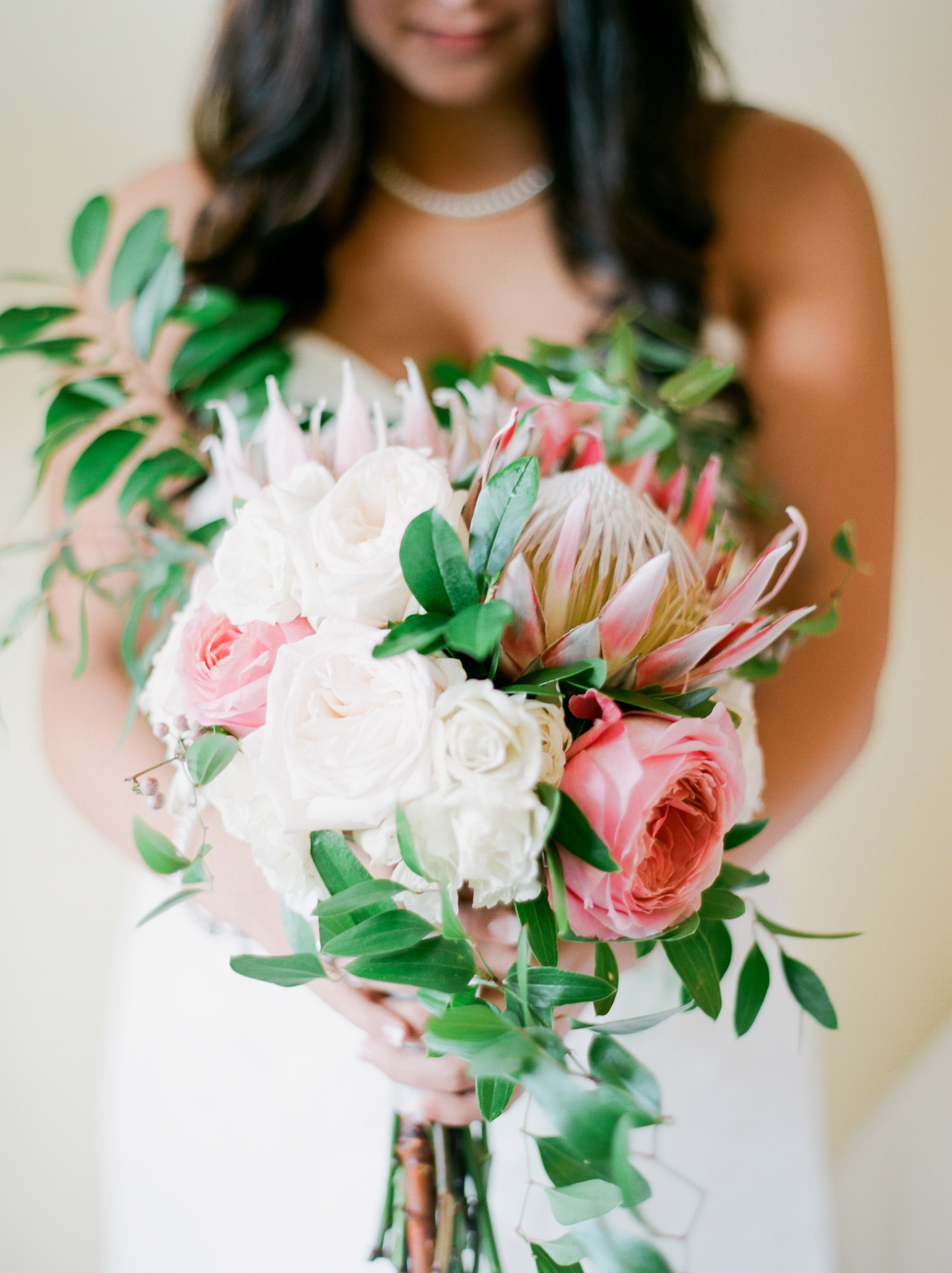 Seaside wedding bouquet | Kaylie B. Poplin Photography | Okaloosa Island fine art wedding photographer