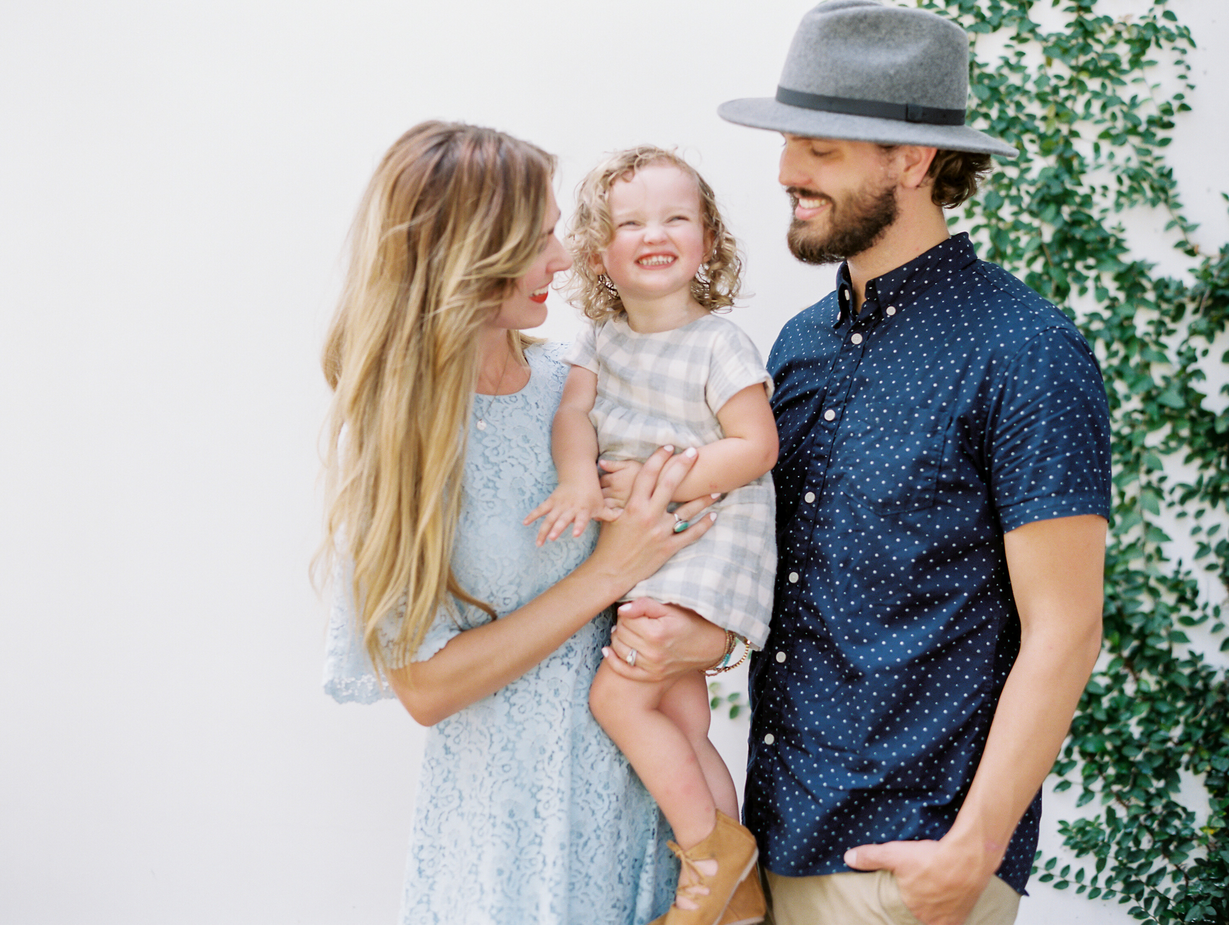 Hipster family photo session | Kaylie B. Poplin Photography | Rosemary Beach, Florida