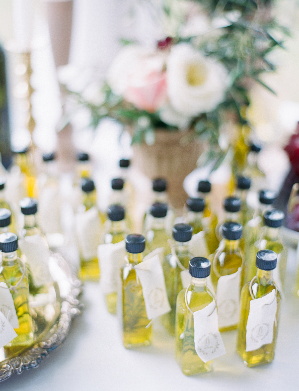 Olive Oil Wedding Favors | Fine Art Crestview Florida Wedding | Jennifer Blair Photography