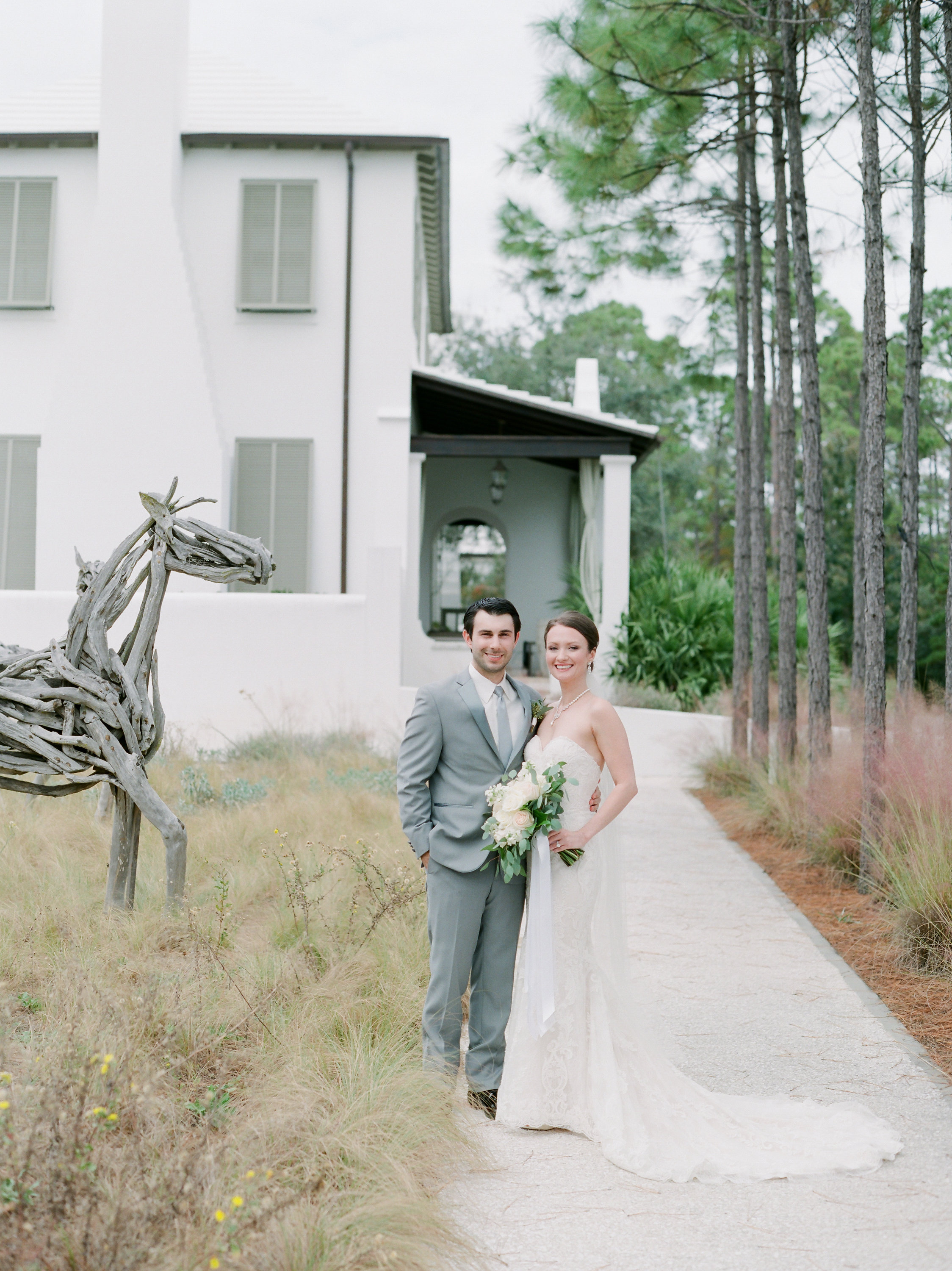 Alys Beach, Florida Wedding - Michael + Lauren   A celebration in the white washed Alys Beach was the perfect place for M + L's intimate wedding. Neutral tones, meaningful details and a reception at Caliza to end this perfect day.
