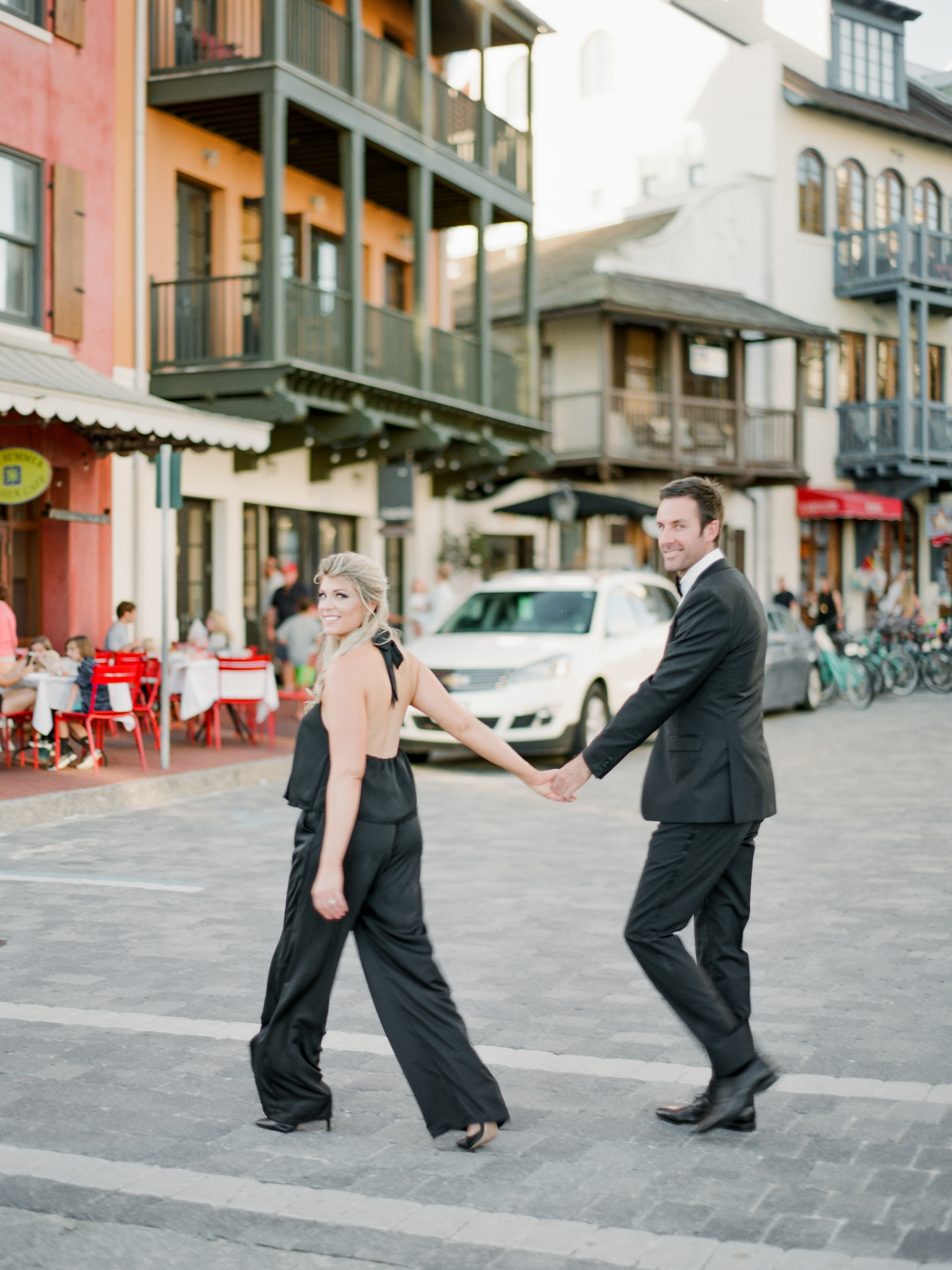 rosemary beach engagement session kaylie b poplin photography