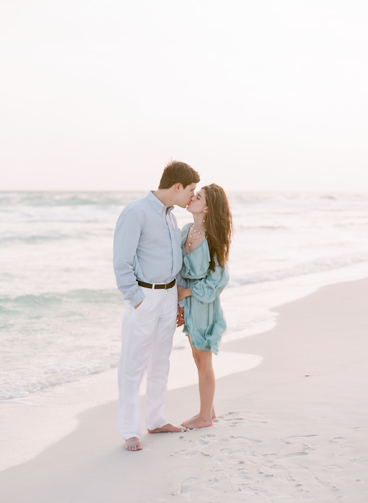 seaside Florida engagement