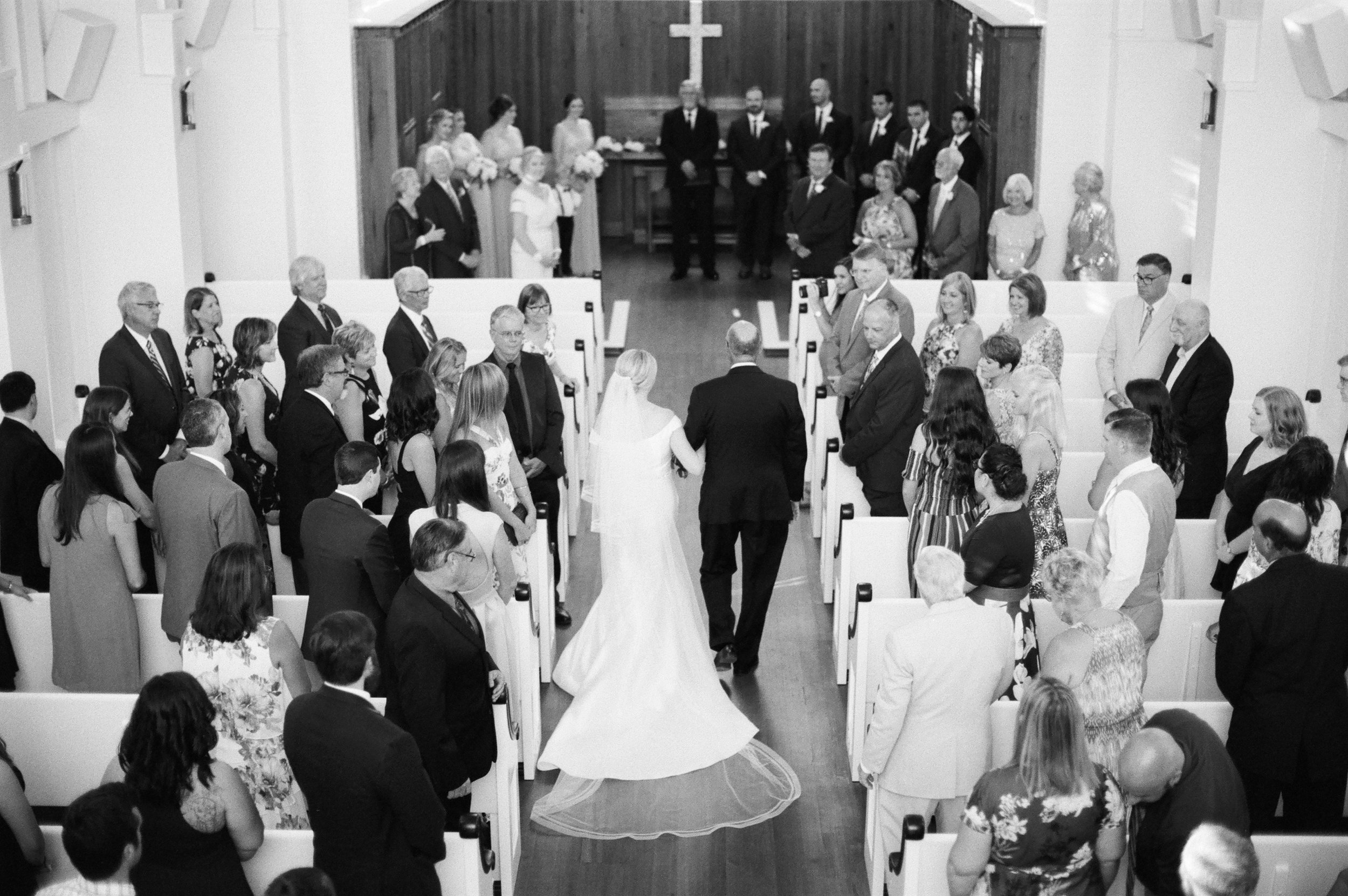 seaside Florida chapel wedding