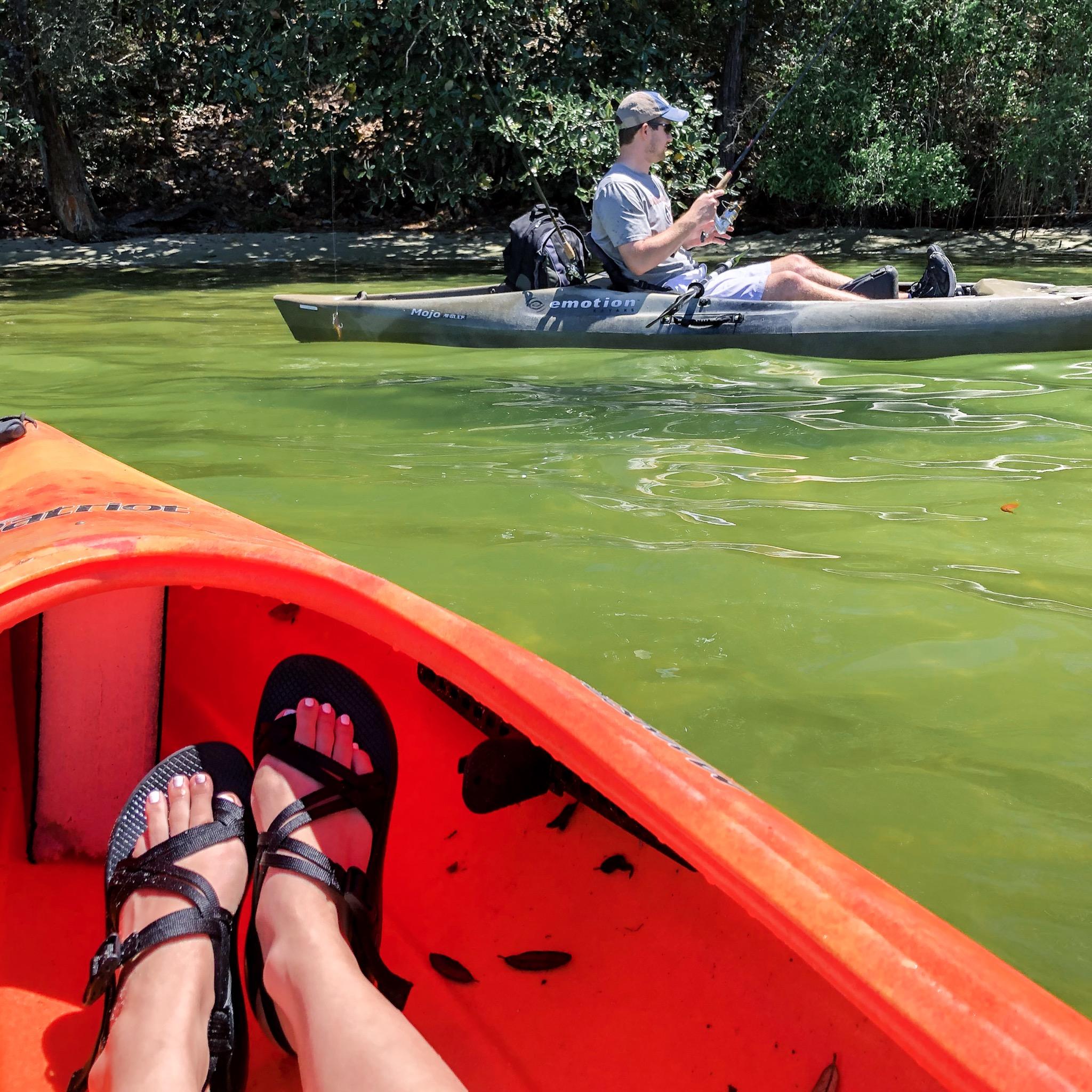 30a kayaking