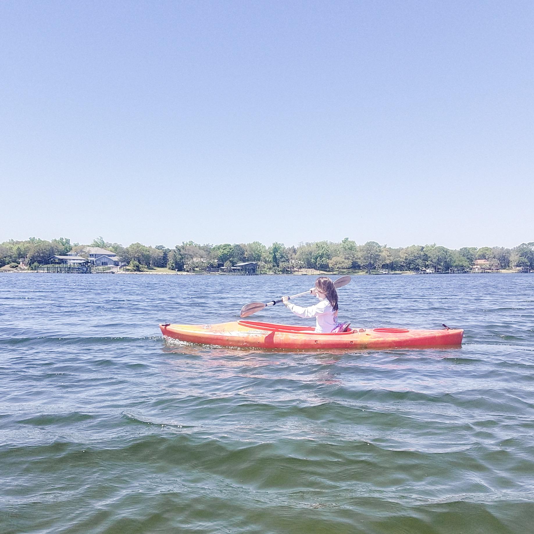 destin florida kayaking