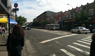Hunts Point. Notice the 80's style on the hip redhead on the left.