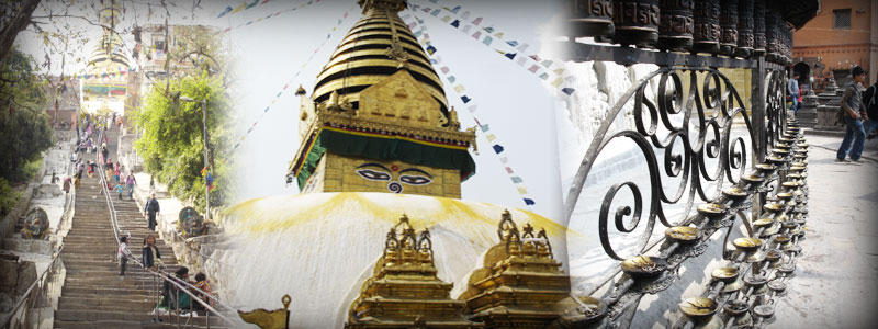 Kathmandu has a number of World Heritage sites including the Swayambunath Temple, or Monkey Temple and Durbar Square.