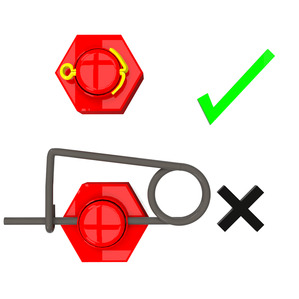 2 - Dropped Objects (Cotter Pin Only)