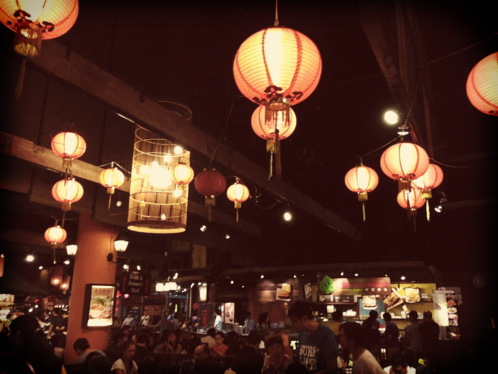 Hawker Center = Singapore food court