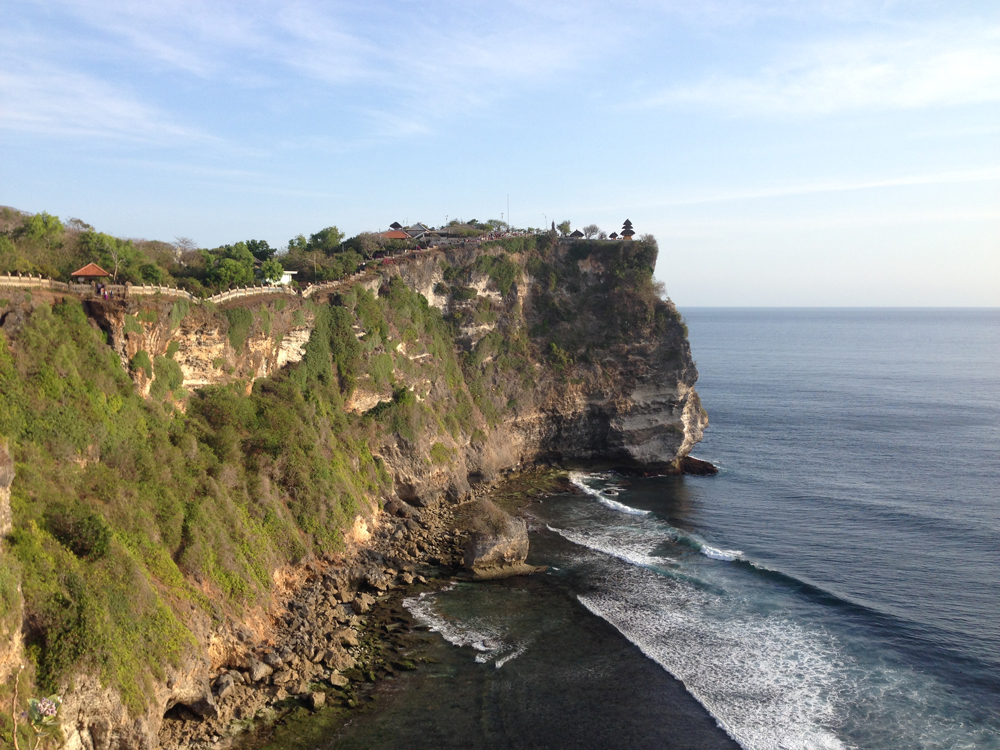 Cliff temple in Uluwatu