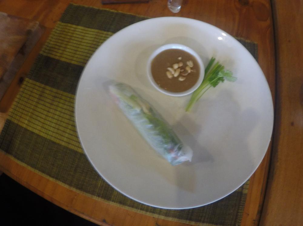 Veggie spring roll