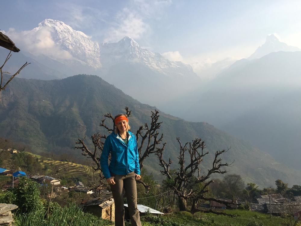 The amazing view from Ghandruk