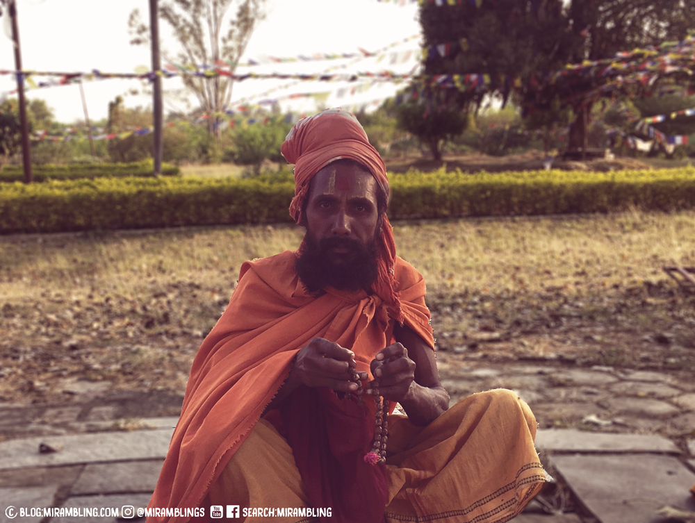 A sadhu (holy man) in Lumbini