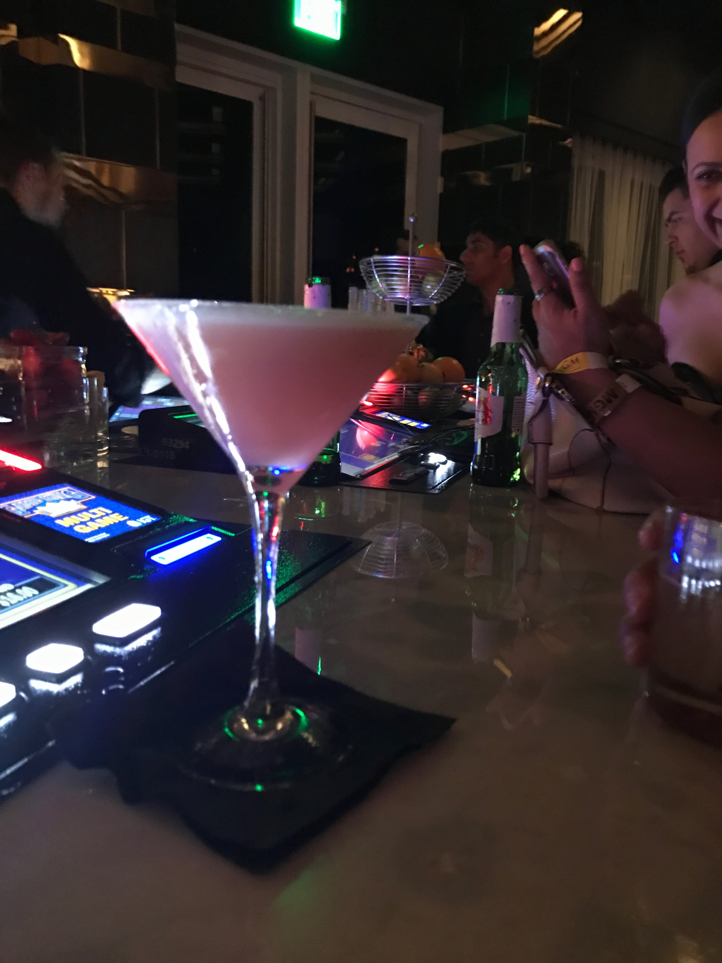 the pink drink