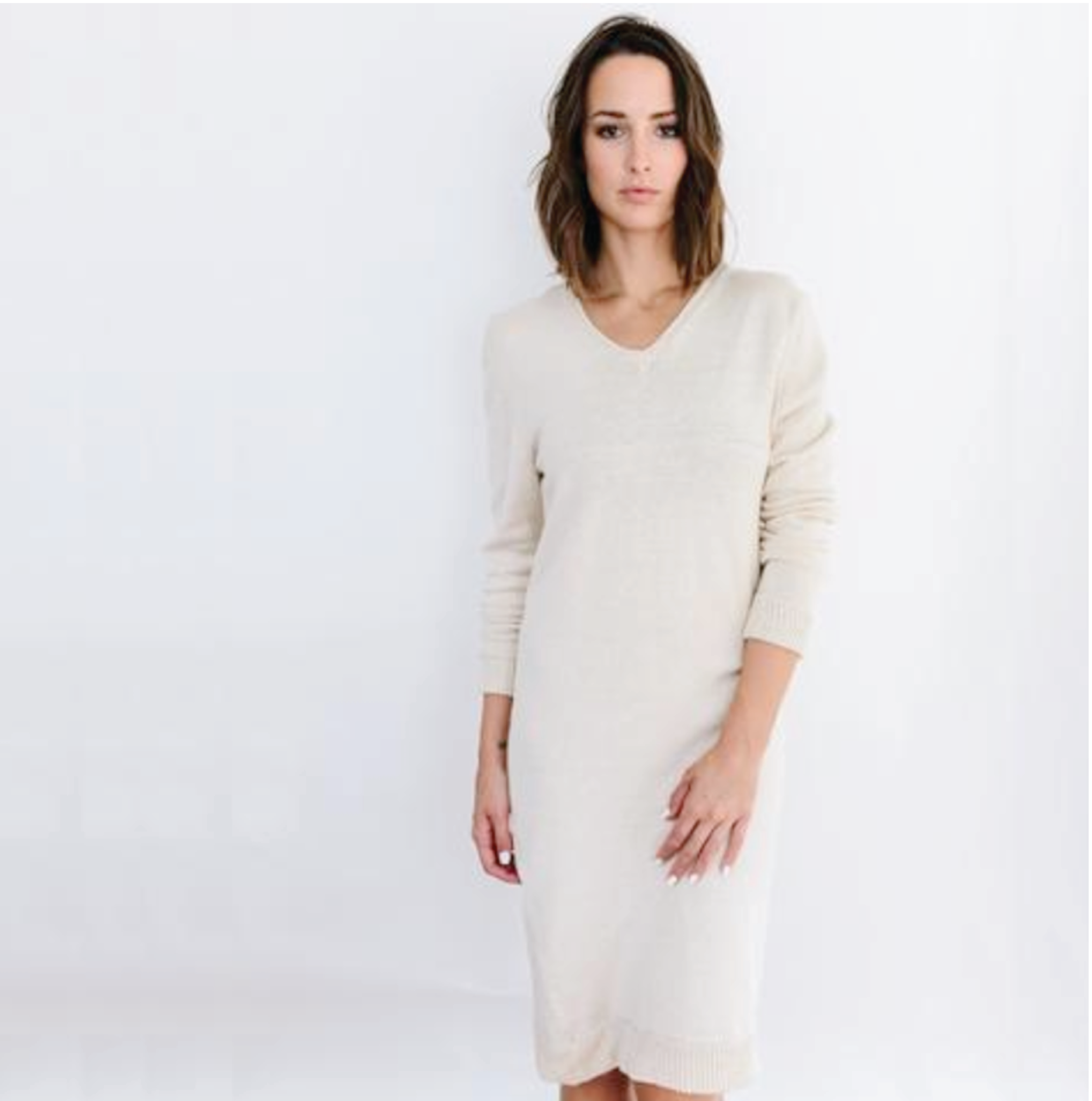fairtrade sweater dress