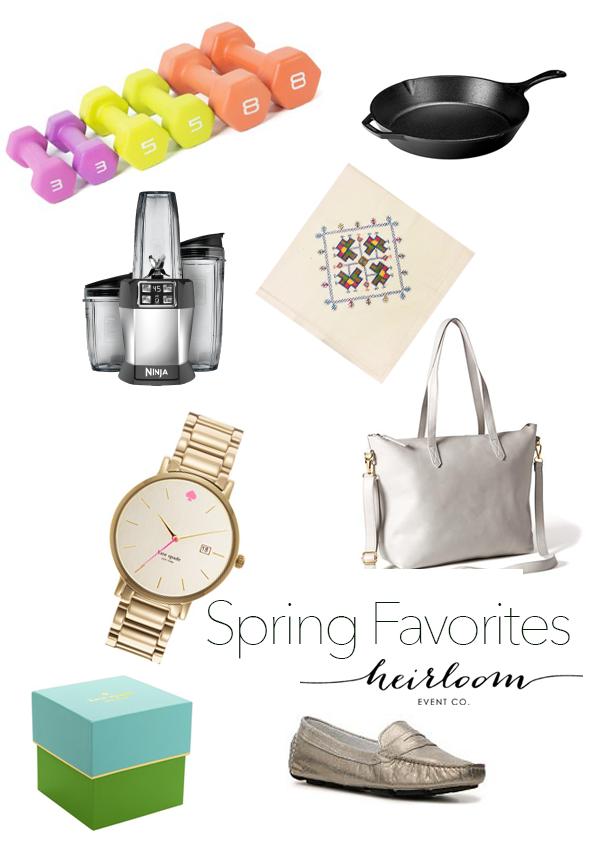 Heirloom Event Co Spring Favorites