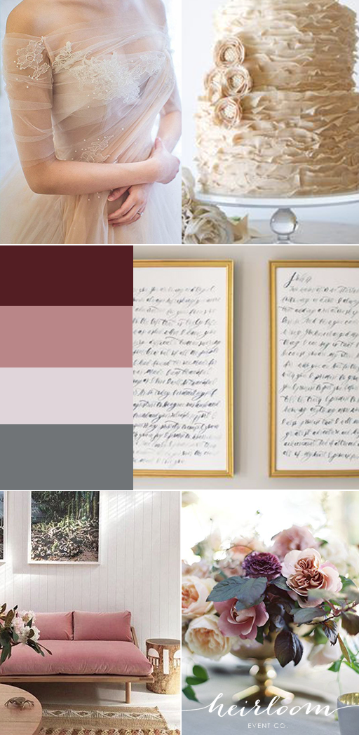 Heirloom Event Co. // Romantic Wedding Inspiration