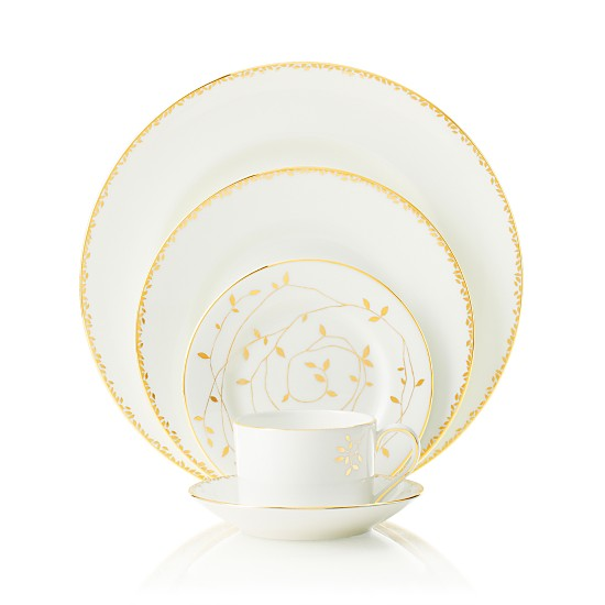 Vera Wang for Wedgewood ' Gilded Leaf'