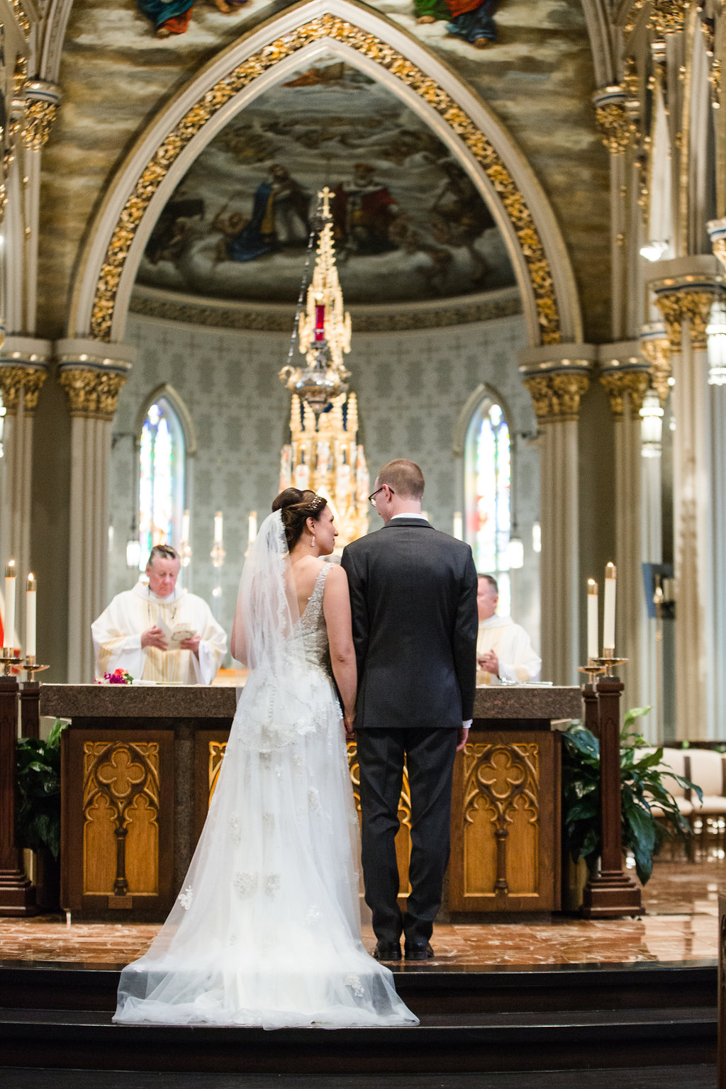 Heirloom Event Co. | Basilica of the Sacred Heart, University of Notre Dame Campus + Journeyman Distillery