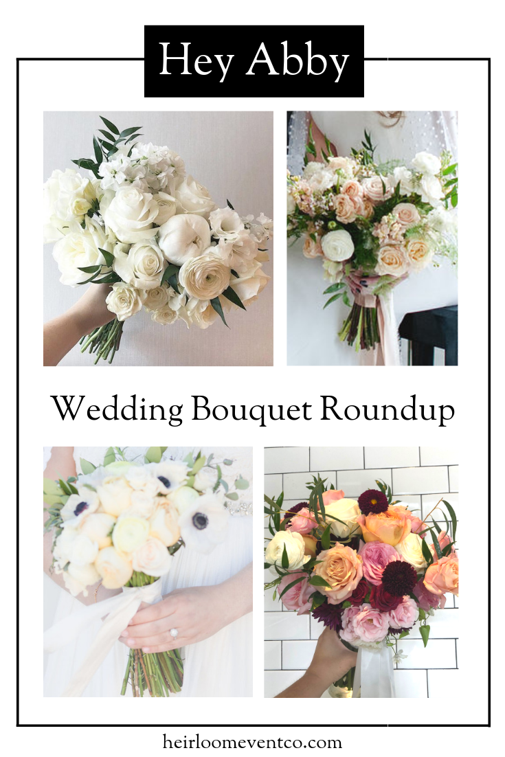 Heirloom Event Co. | Wedding Bouquet Roundup