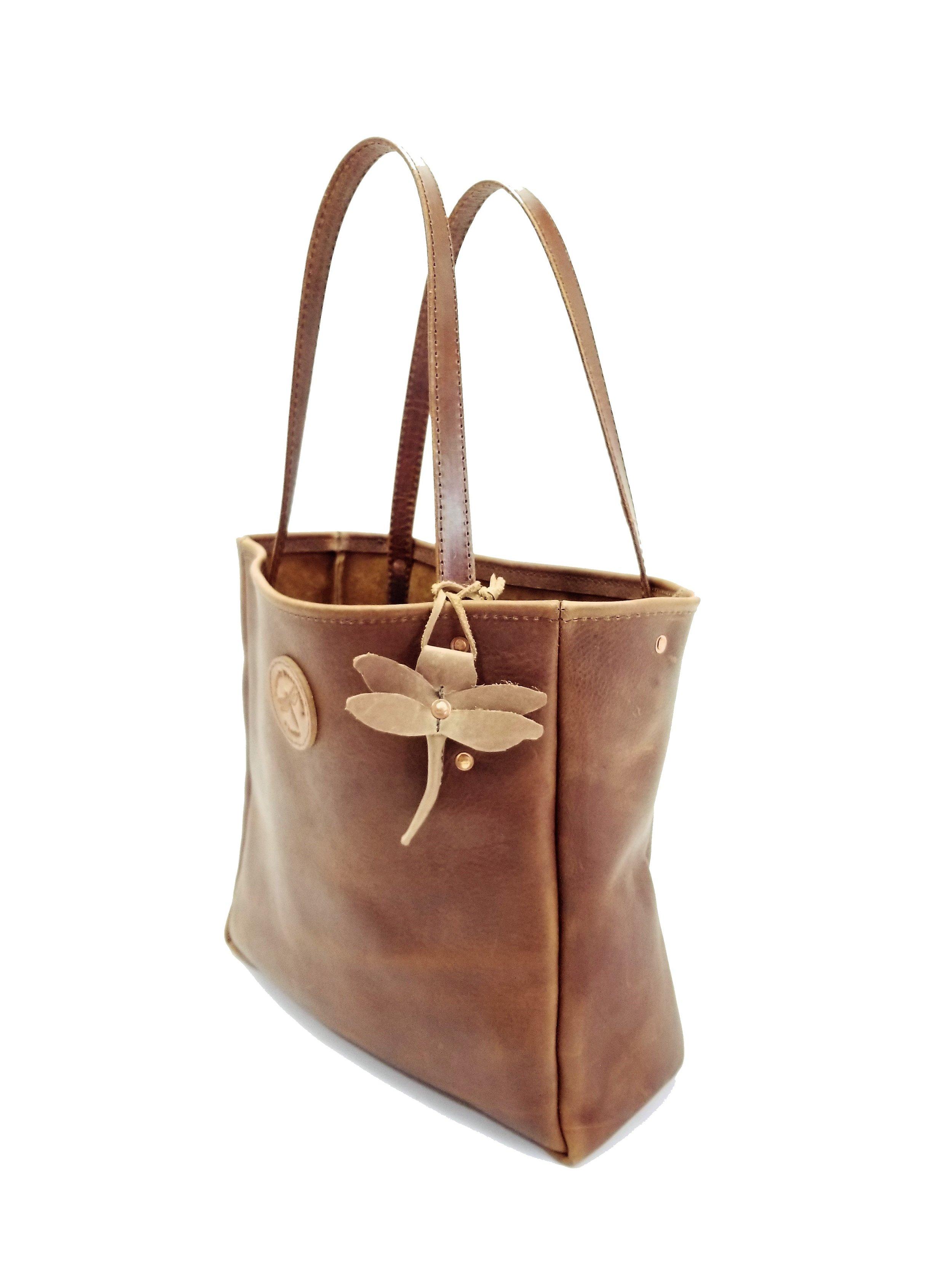 tote - leather tote - leather purse