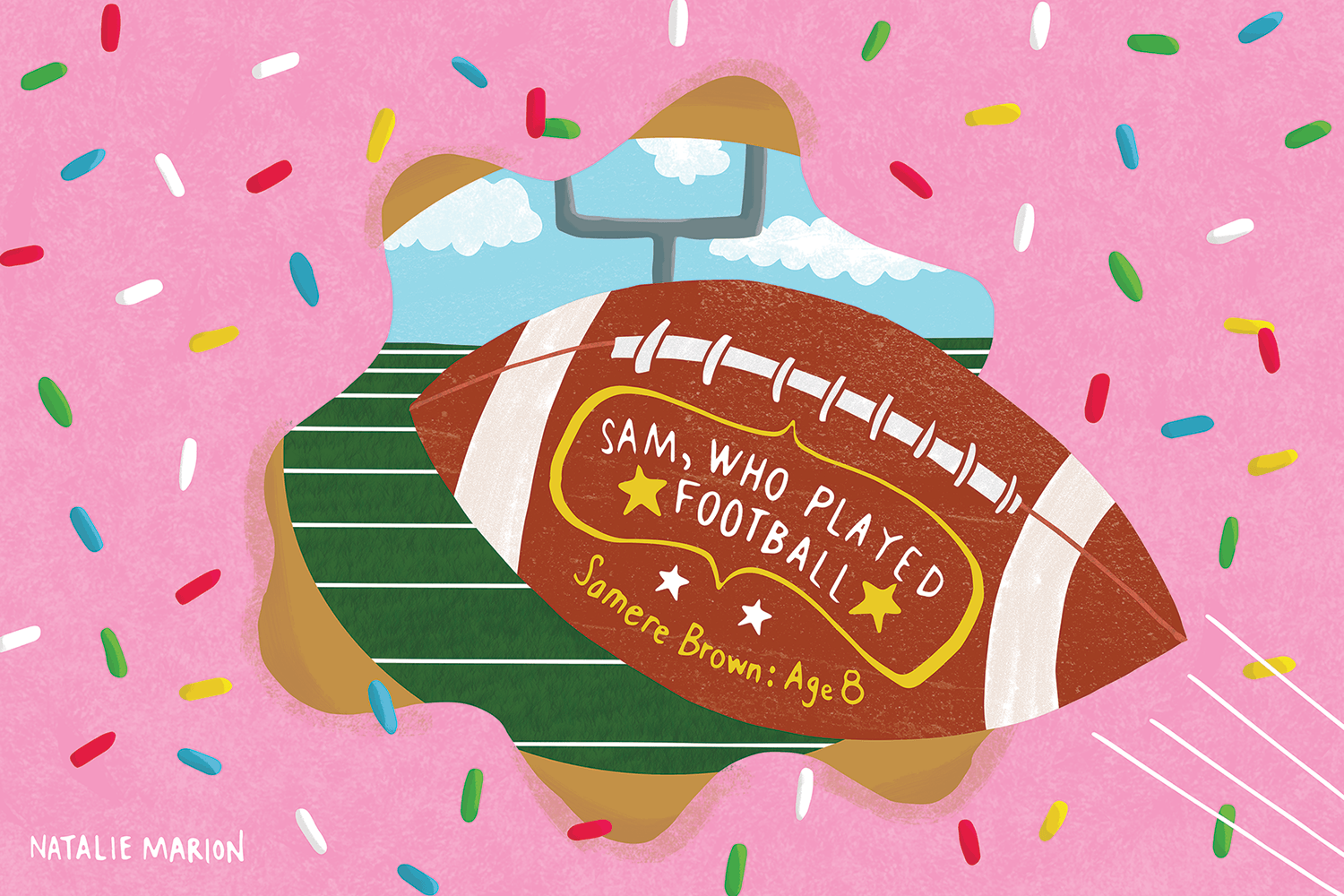 natalie-marion-826michigan-student-writing-donut-football-illustration.png