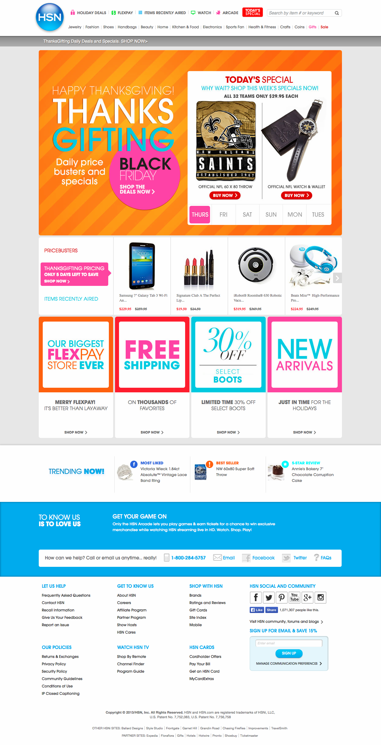 HSN.com Landing Page.png